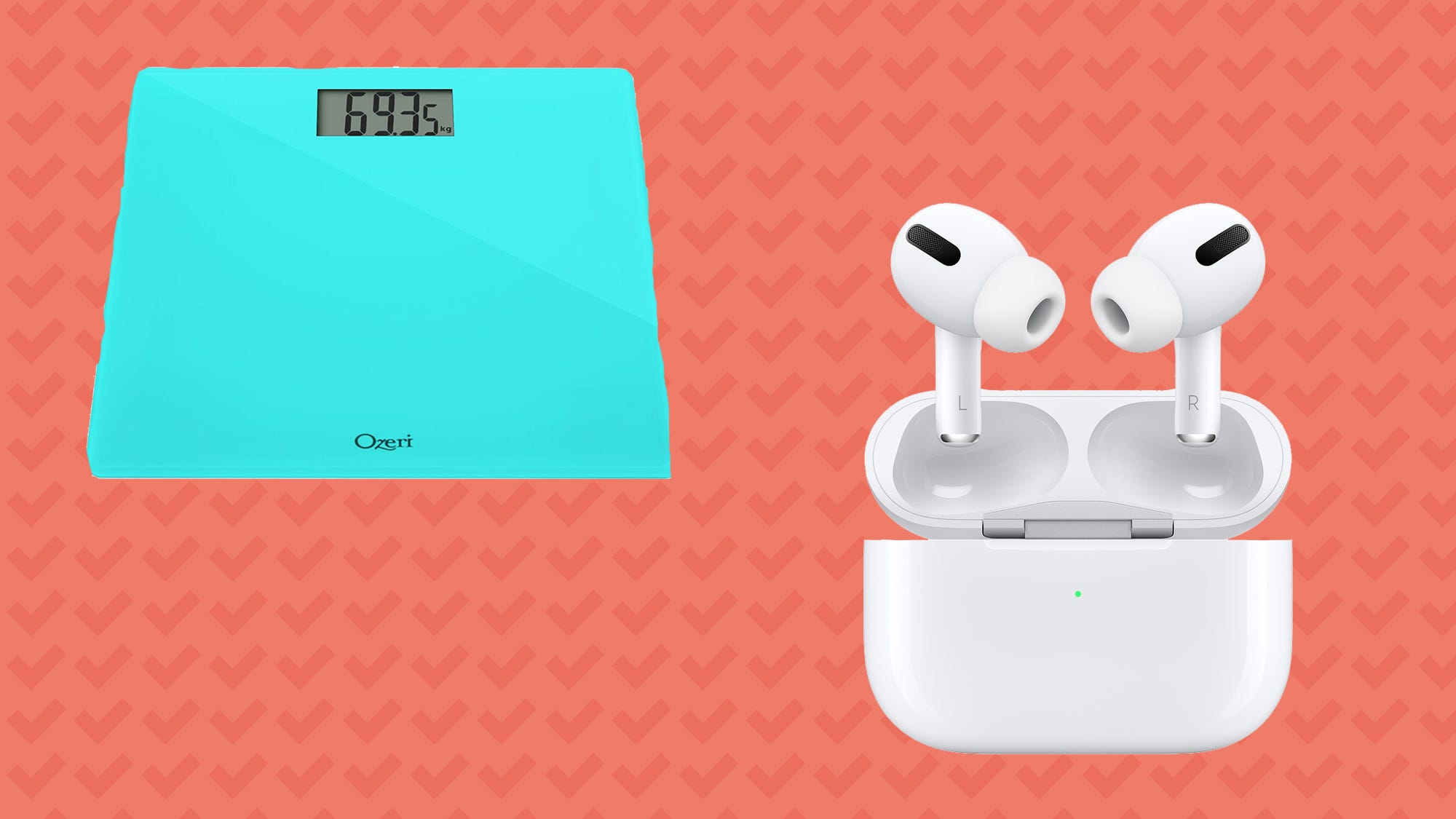 Save on Apple AirPods Pros, bathroom scales and more