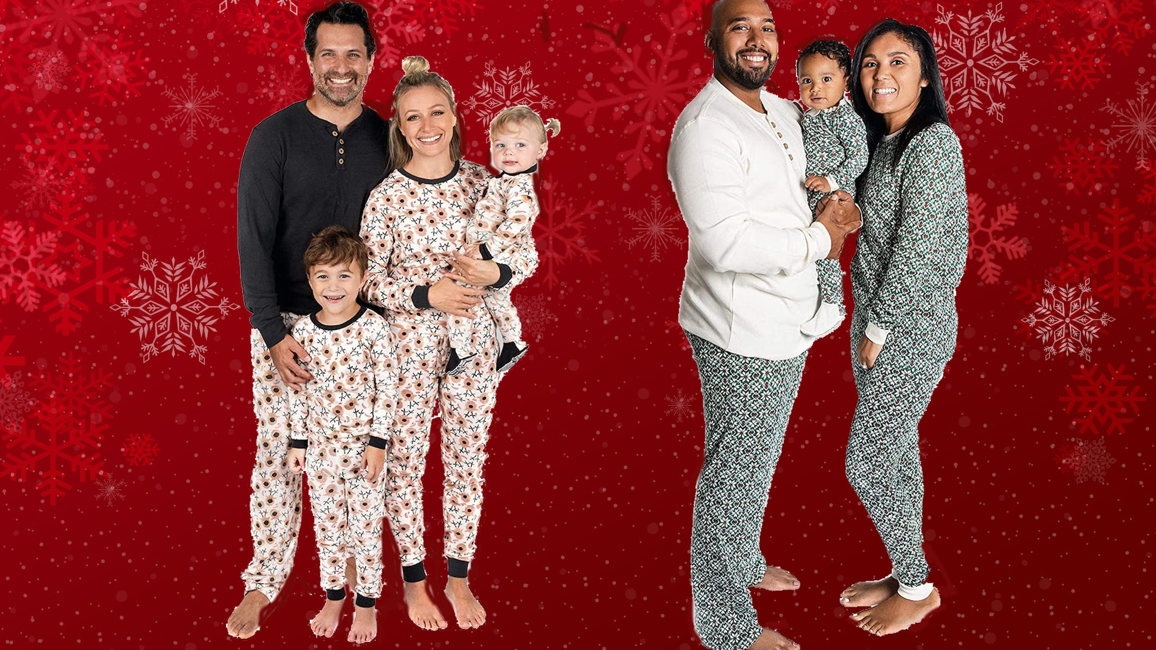 Shop matching family pj's from $9