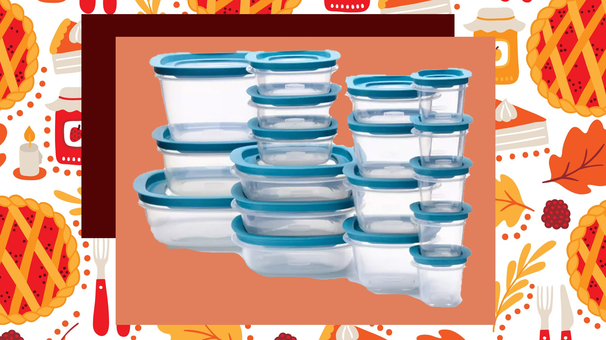This 36-piece Rubbermaid set is less than $20