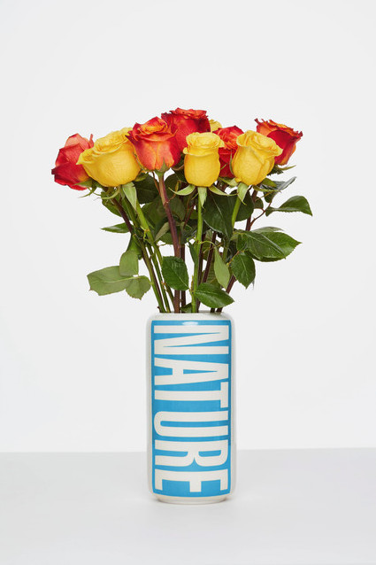Barbara Kruger, Untitled (Vase), 2020. Photo: Alistair Matthews