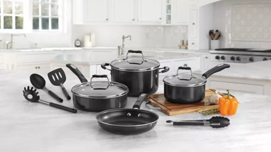This popular Cuisinart cookware set is 60% off right now