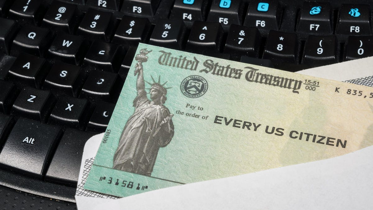 You could receive your $600 stimulus check as soon as tonight, Treasury says
