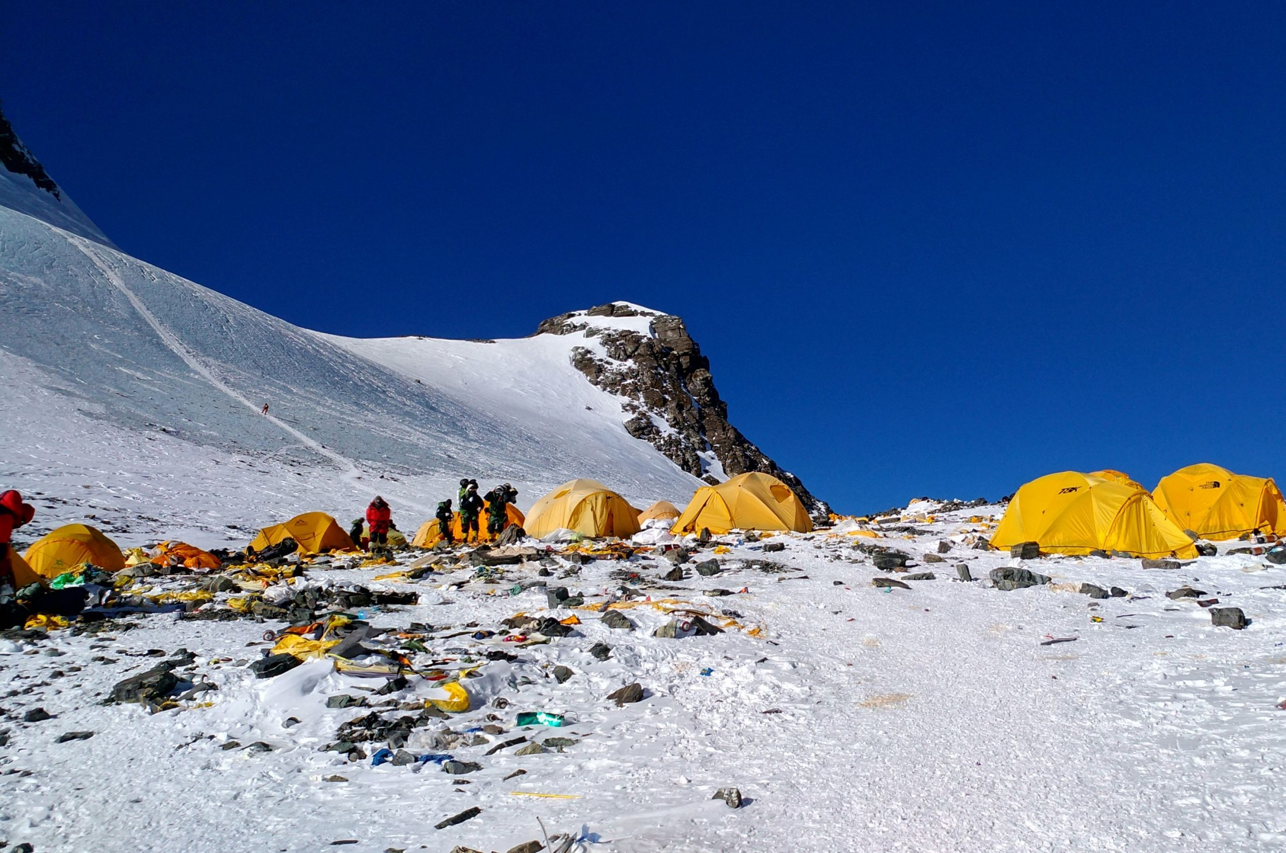 A Museum in the Himalayas Has a Solution for the Tons of Trash Climbers Leave on Mount Everest: Turn It Into Art | artnet News