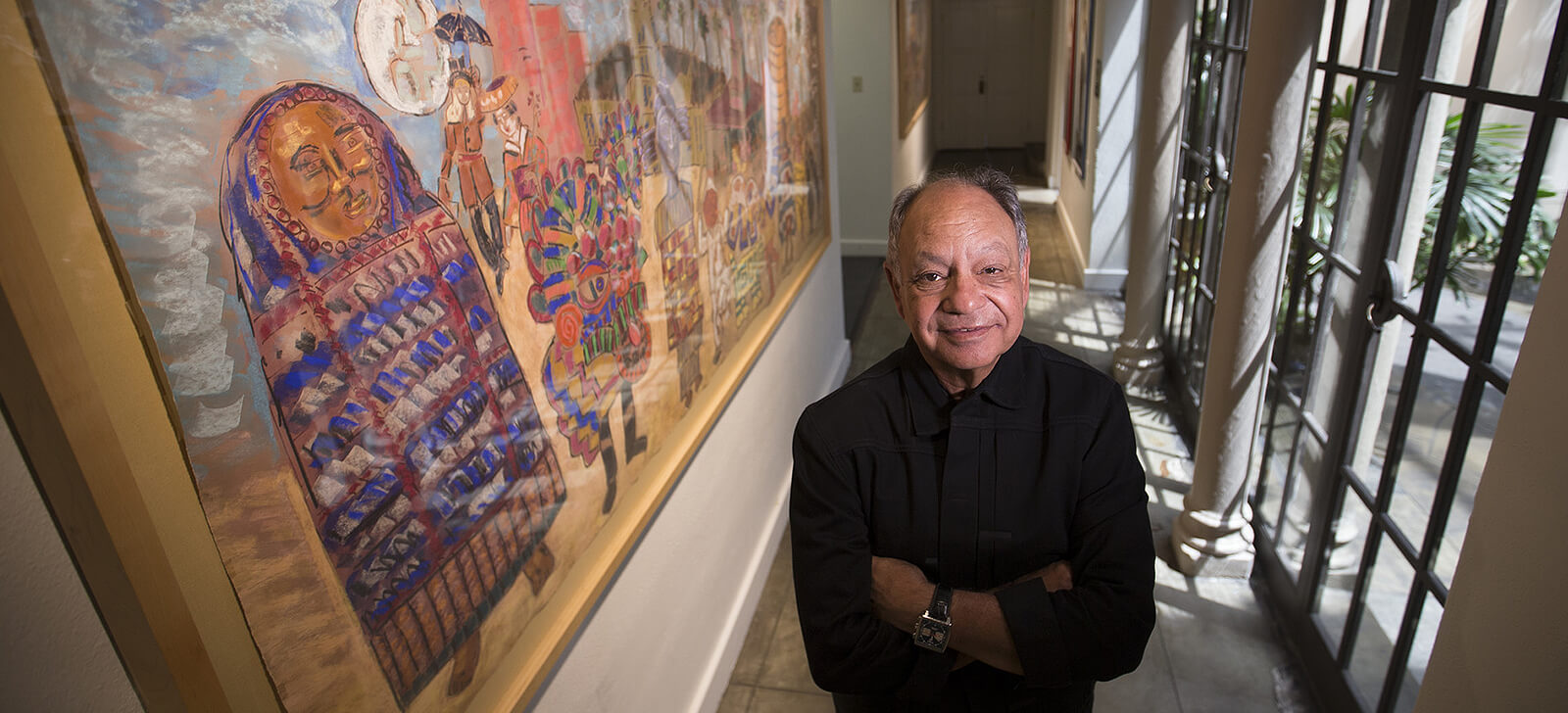 Cheech Marin's Long-Awaited Chicano Art Museum Secures City Approval and $1 Million in Annual Funding