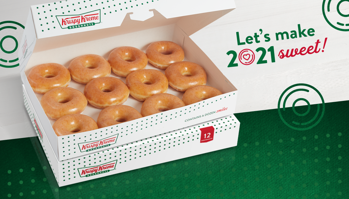 Krispy Kreme rings in 2021 with 'Four Days of Glaze' doughnut deal: Get two dozens for $12 through Sunday