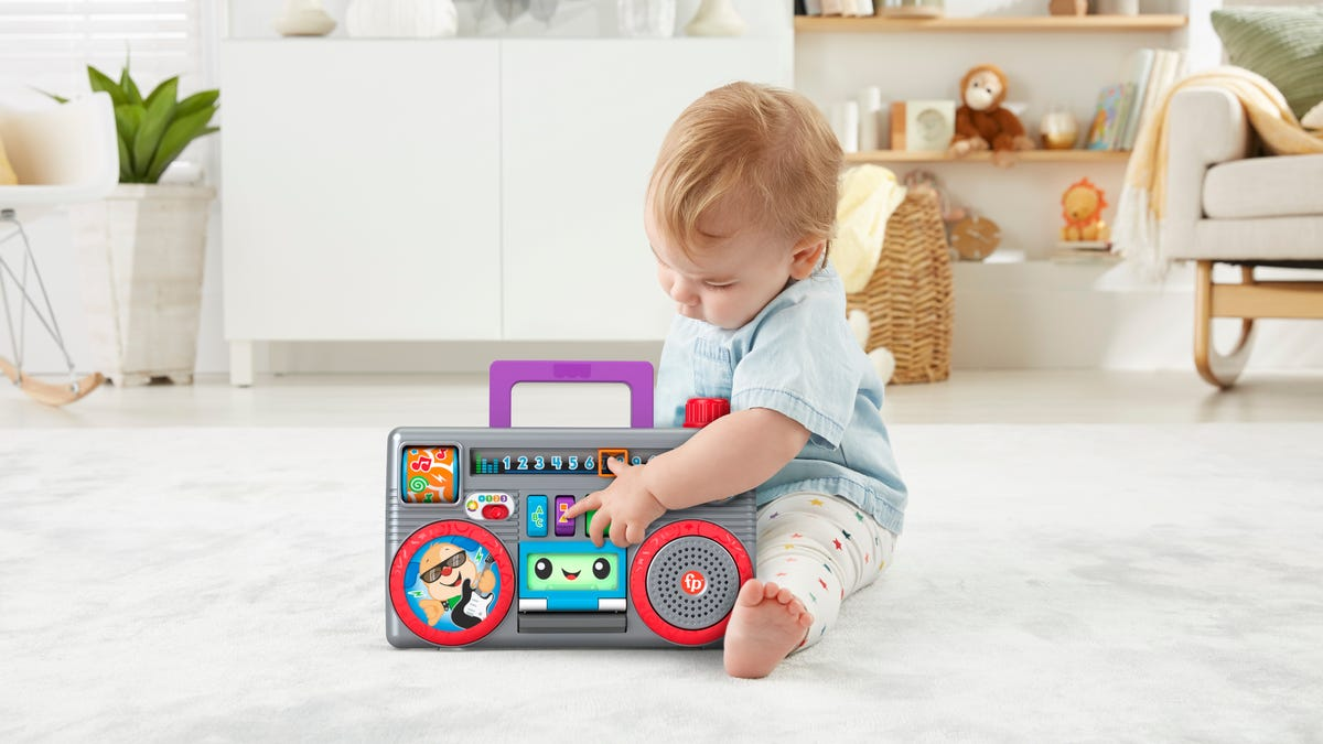Retro revival: New Fisher-Price toys for infants inspired by the '80s, '90s