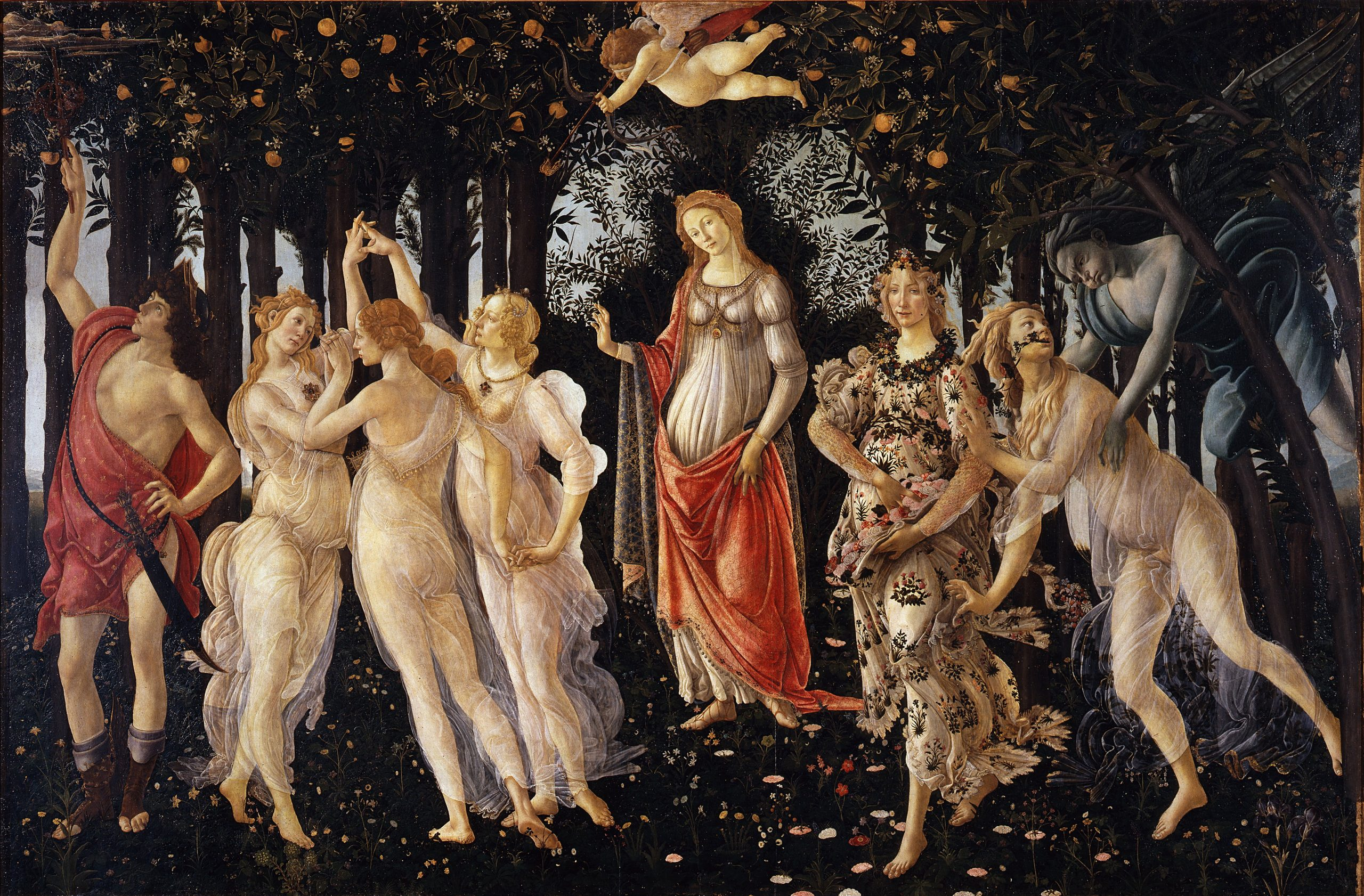 Sandro Botticelli's 'Primavera' Is a Mysterious Celebration of Spring. Here Are 4 Things You May Not Know About This Marvel