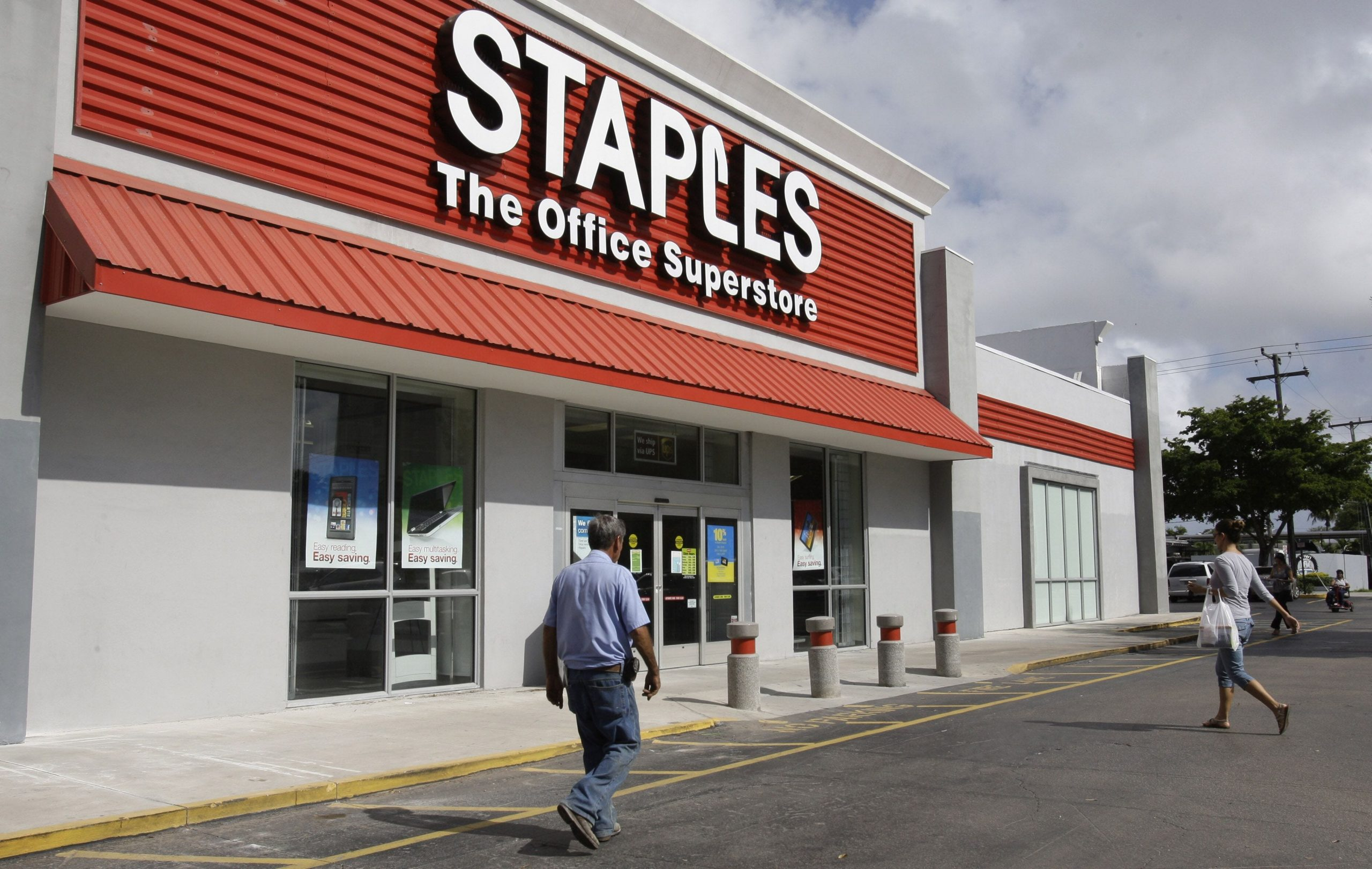 Staples proposes buying rival Office Depot for $2.1 billion after past merger attempts were blocked