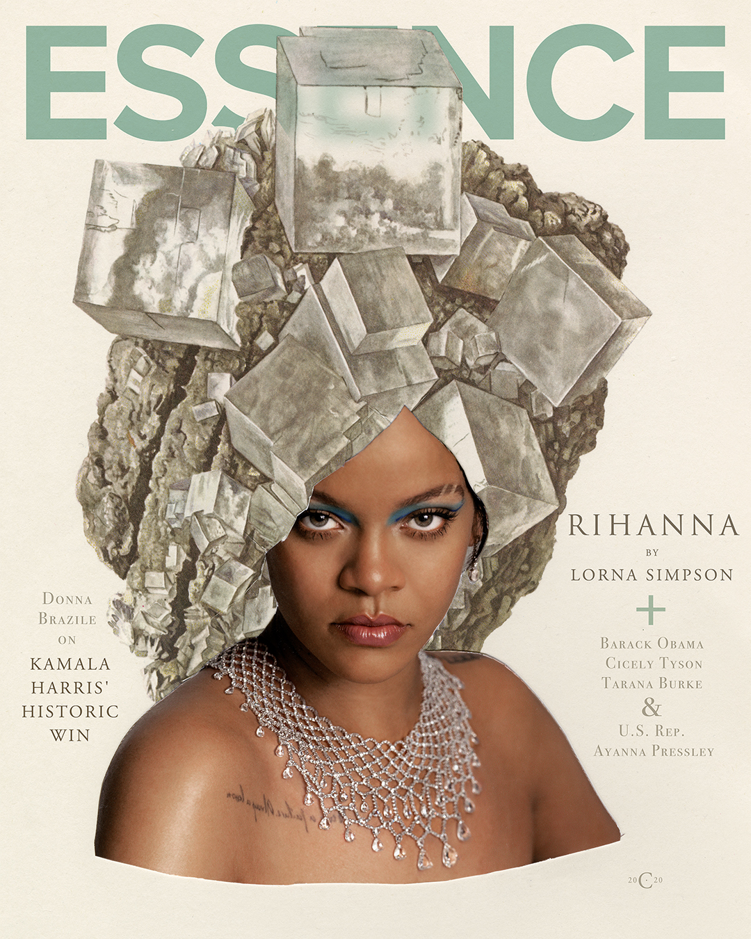 To Photograph Rihanna for 'Essence' Magazine, Artist Lorna Simpson Drew Inspiration From Her Own Archives—See Images Here