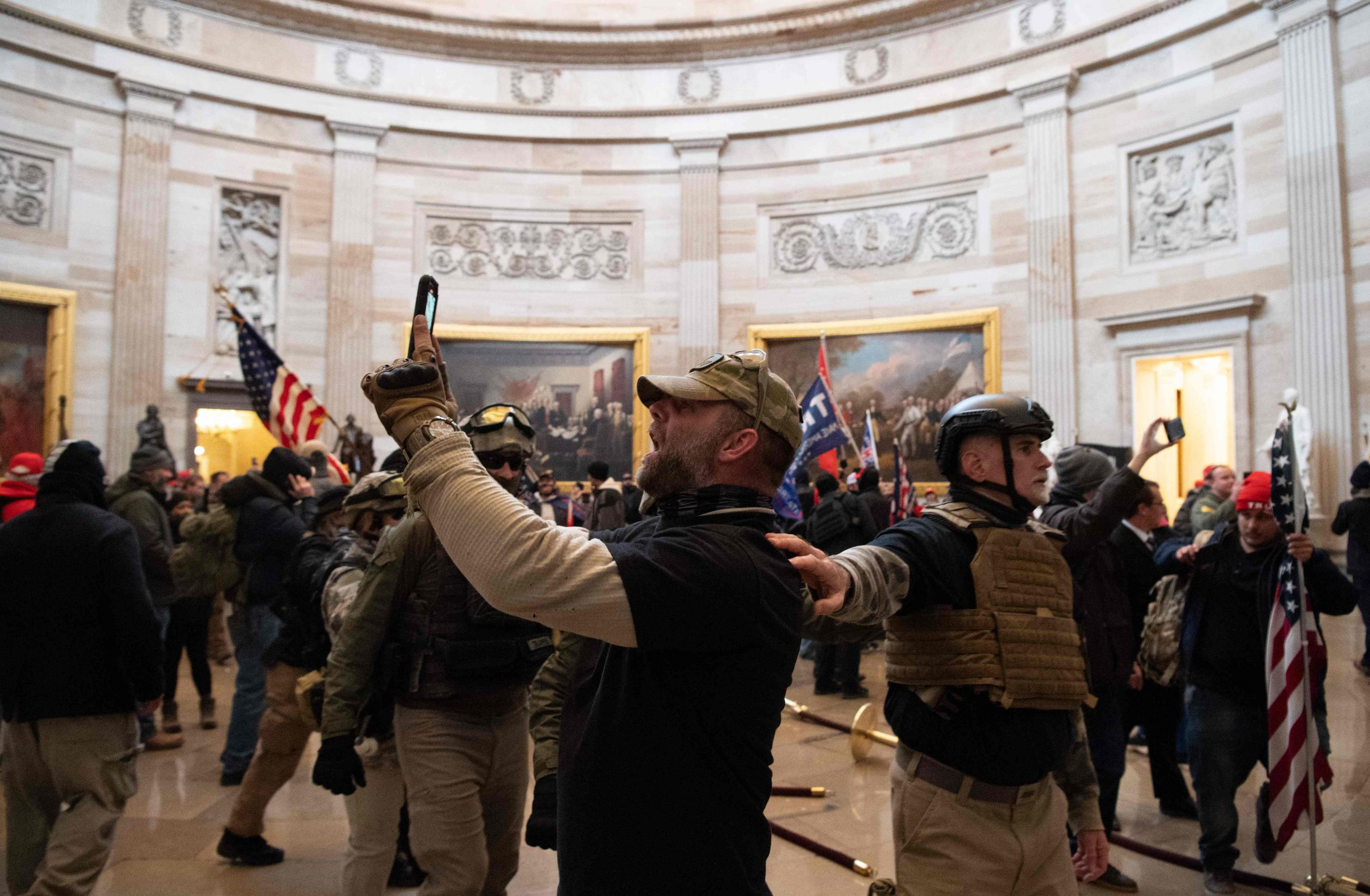 US Capitol rioters are being identified and fired from jobs