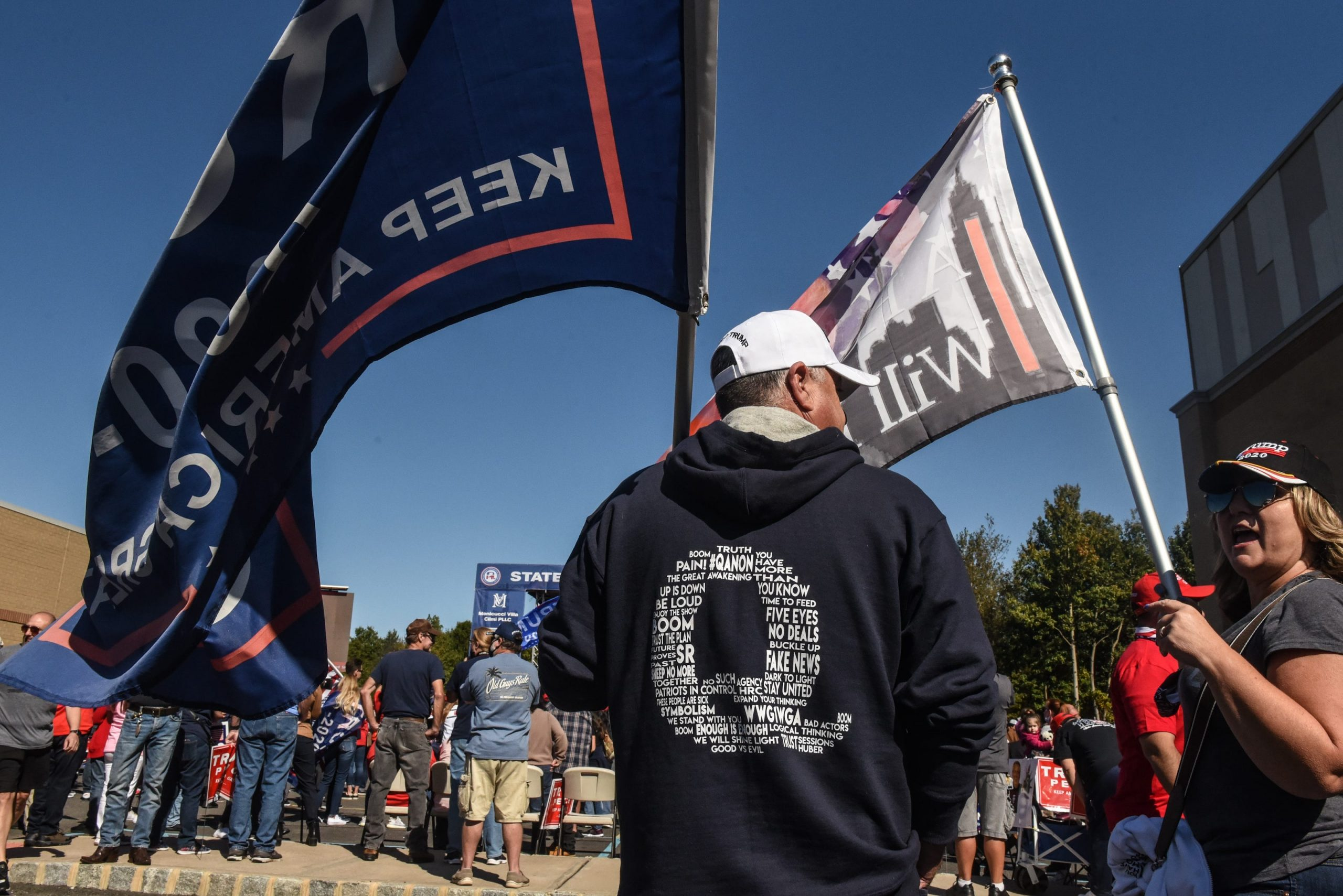 Were voters manipulated by QAnon a force behind Trump's 'red wave' in 2020 election?