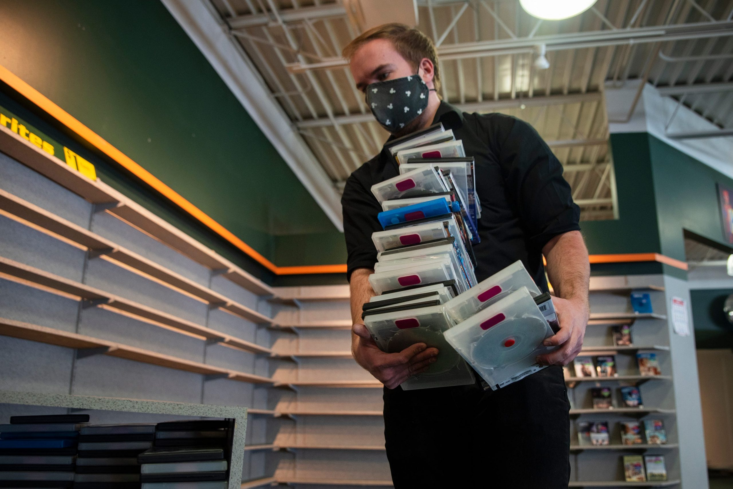 'I loved roaming the aisles': Movie lovers mourn the loss of the last video rental stores