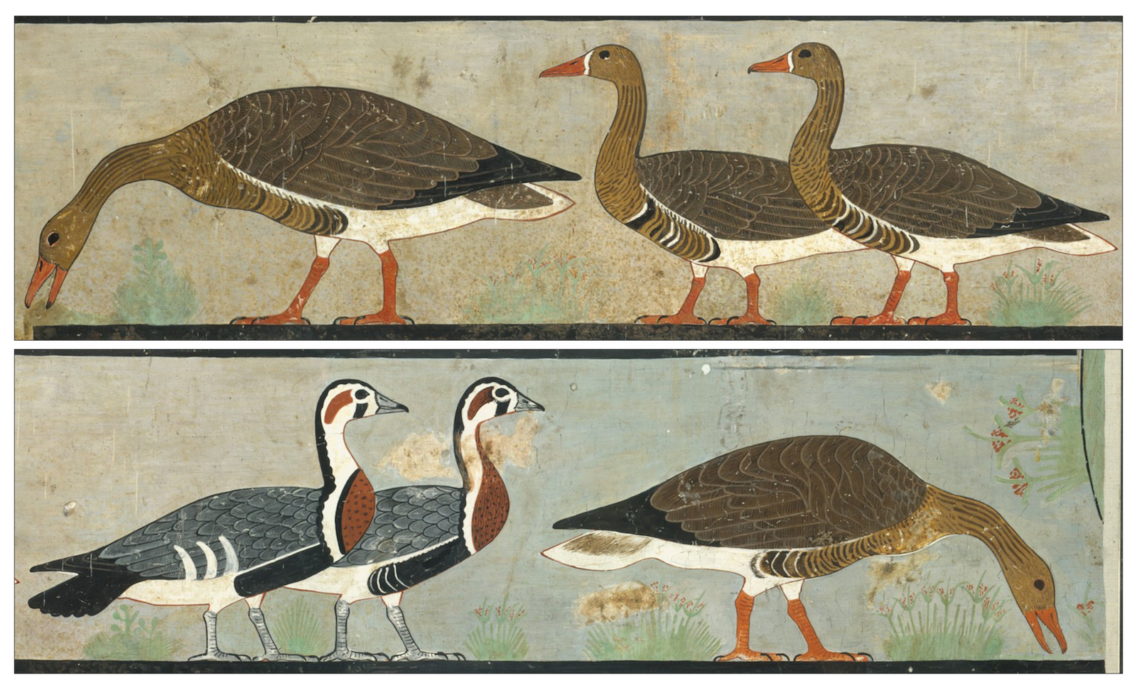 It Turns Out That an Ancient Painting Known as 'Egypt's Mona Lisa' Actually Depicts an Extinct Breed of Goose   Artnet News