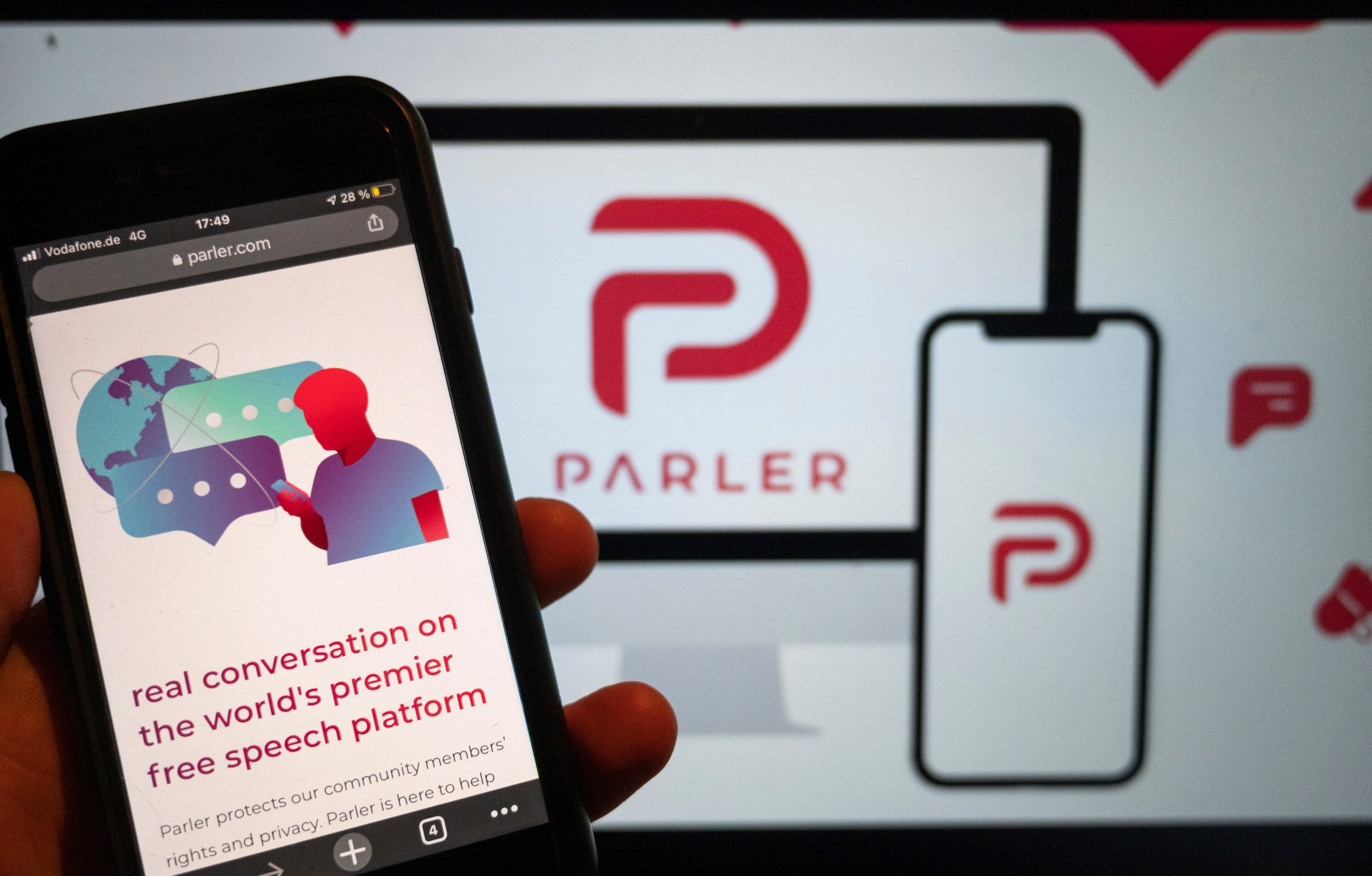 'These people just want to censor me,' fired Parler CEO says free speech platform is trying to muzzle him