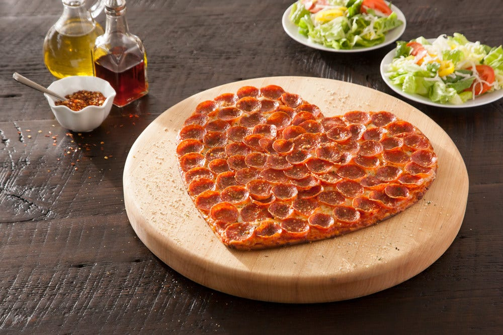 Valentine's Day food deals: Celebrate Galentine's Day Saturday, your sweetheart Sunday with specials, heart pizza