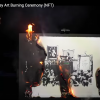 A Group of Financial Traders Torched a $95,000 Banksy on Video and Turned the Stunt Into an NFT Artwork