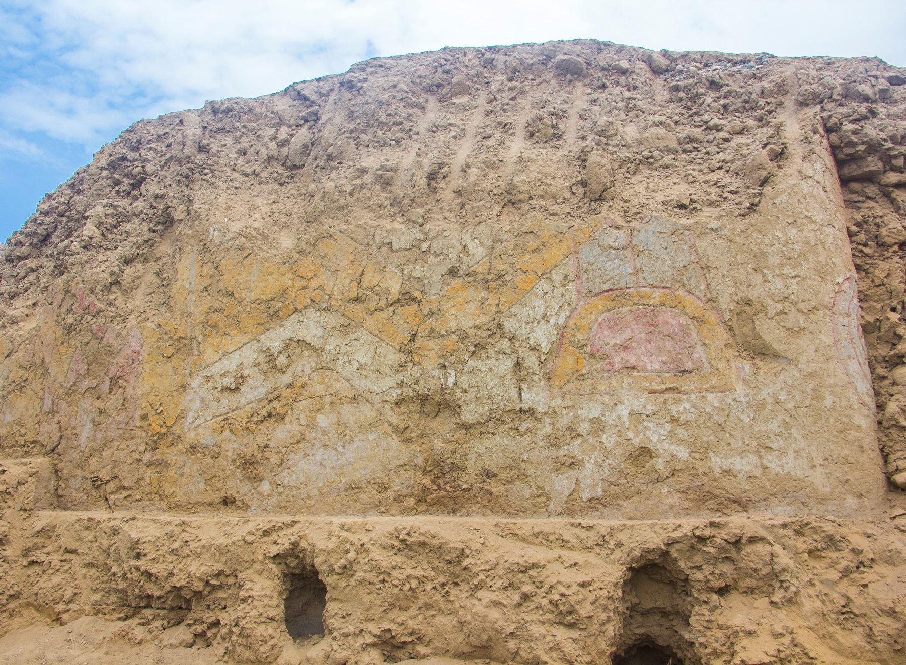Archaeologists Have Discovered a 3,200-Year-Old Mural of a Knife-Wielding Spider God in Peru