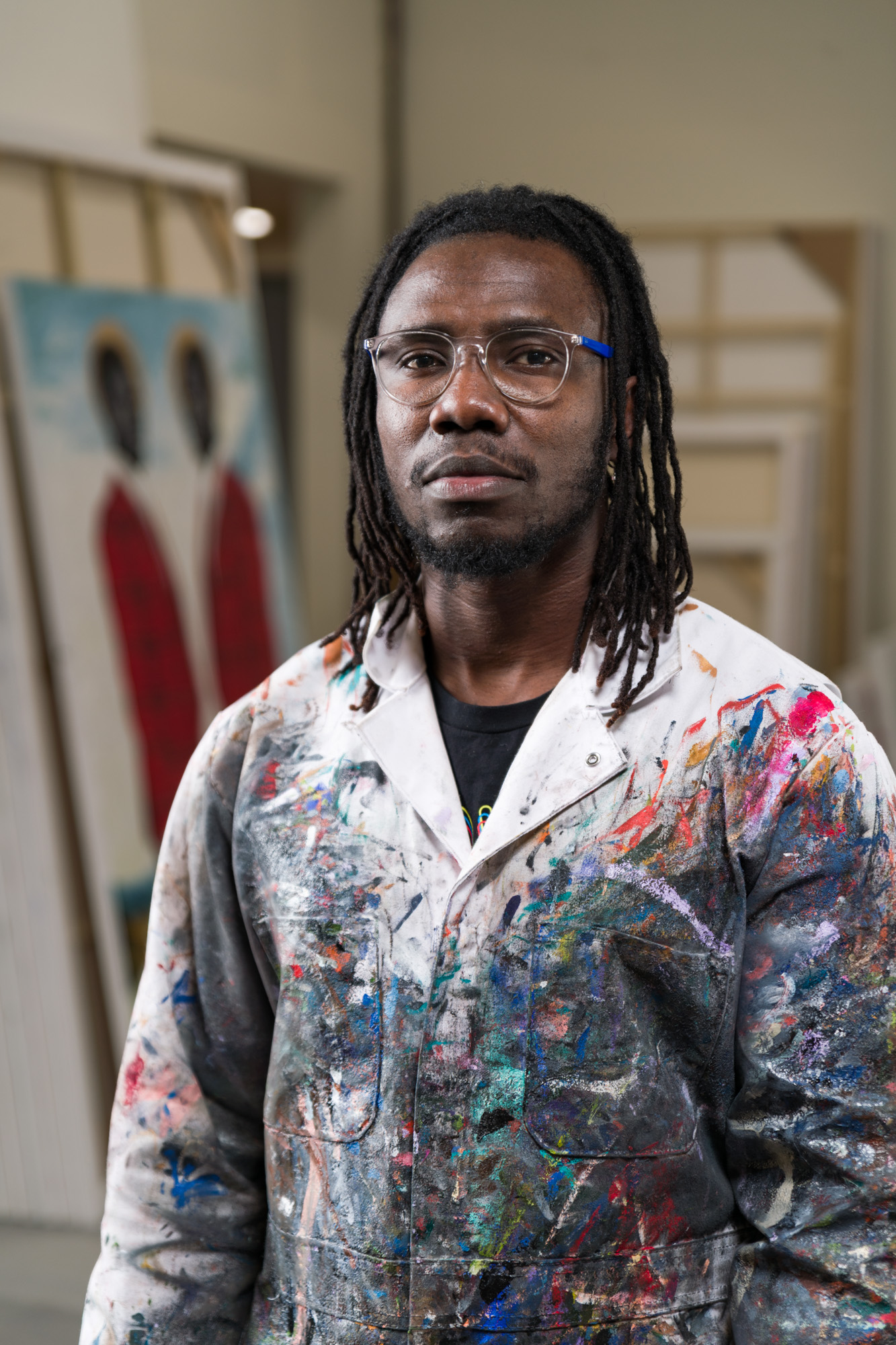 He Used to Work for FedEx. Now, Artist Otis Kwame Kye Quaicoe Is at the Forefront of the Next Generation of West African Art Stars   Artnet News