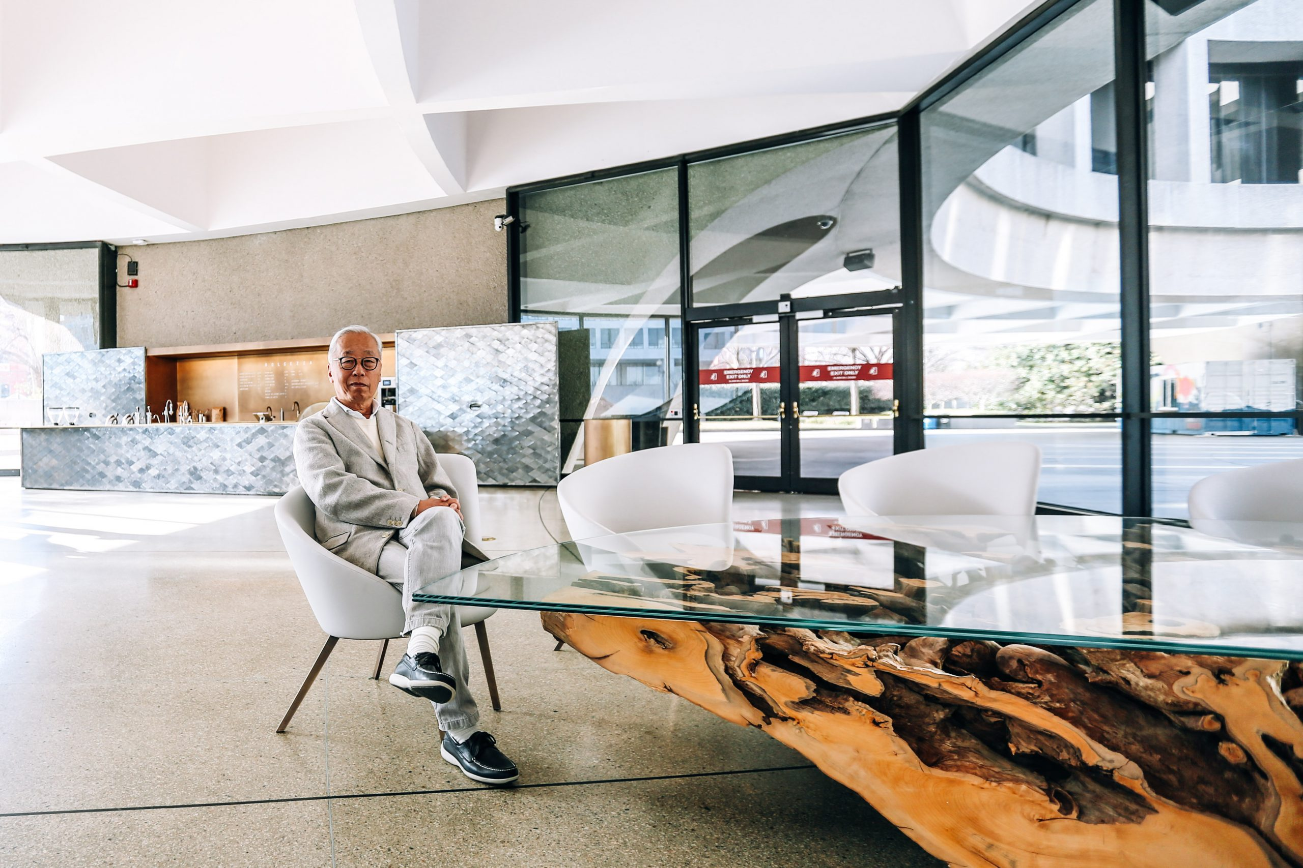 The Art World at Home: Hiroshi Sugimoto Is Reimagining the Hirshhorn Museum's Sculpture Garden and Making Elaborate Soufflés