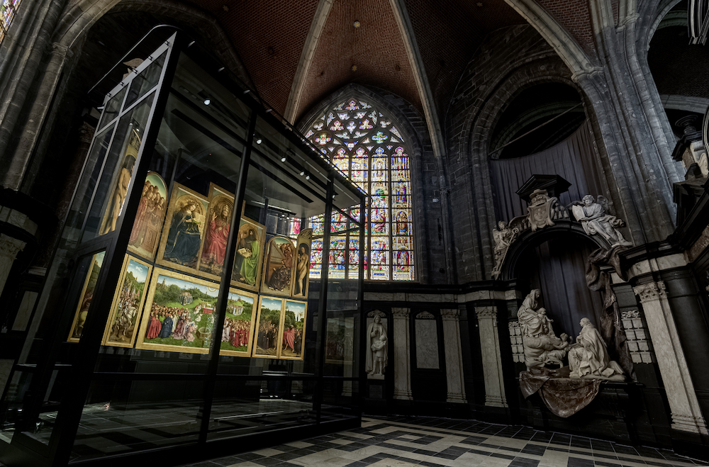 The Ghent Altarpiece at St. Bavo