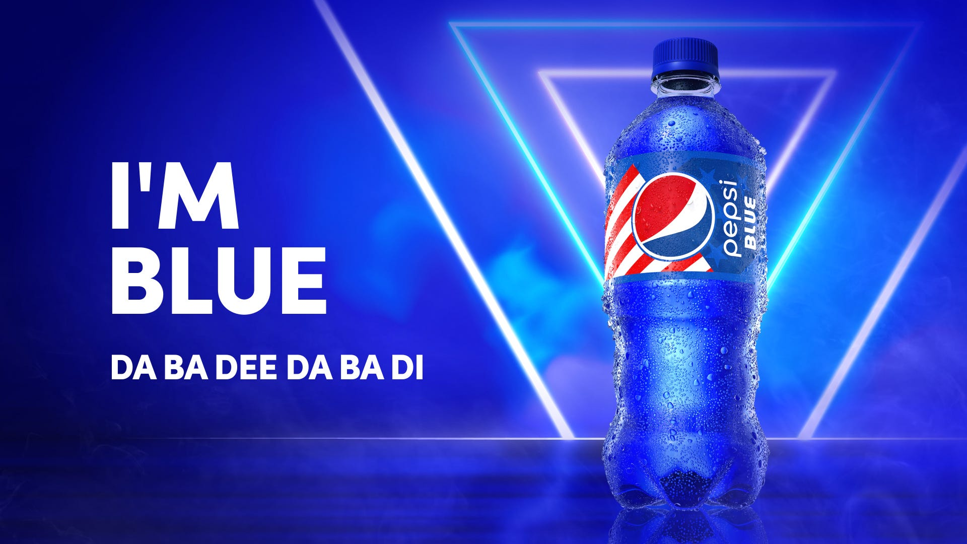 Pepsi Blue is coming back in May for the first time since 2004