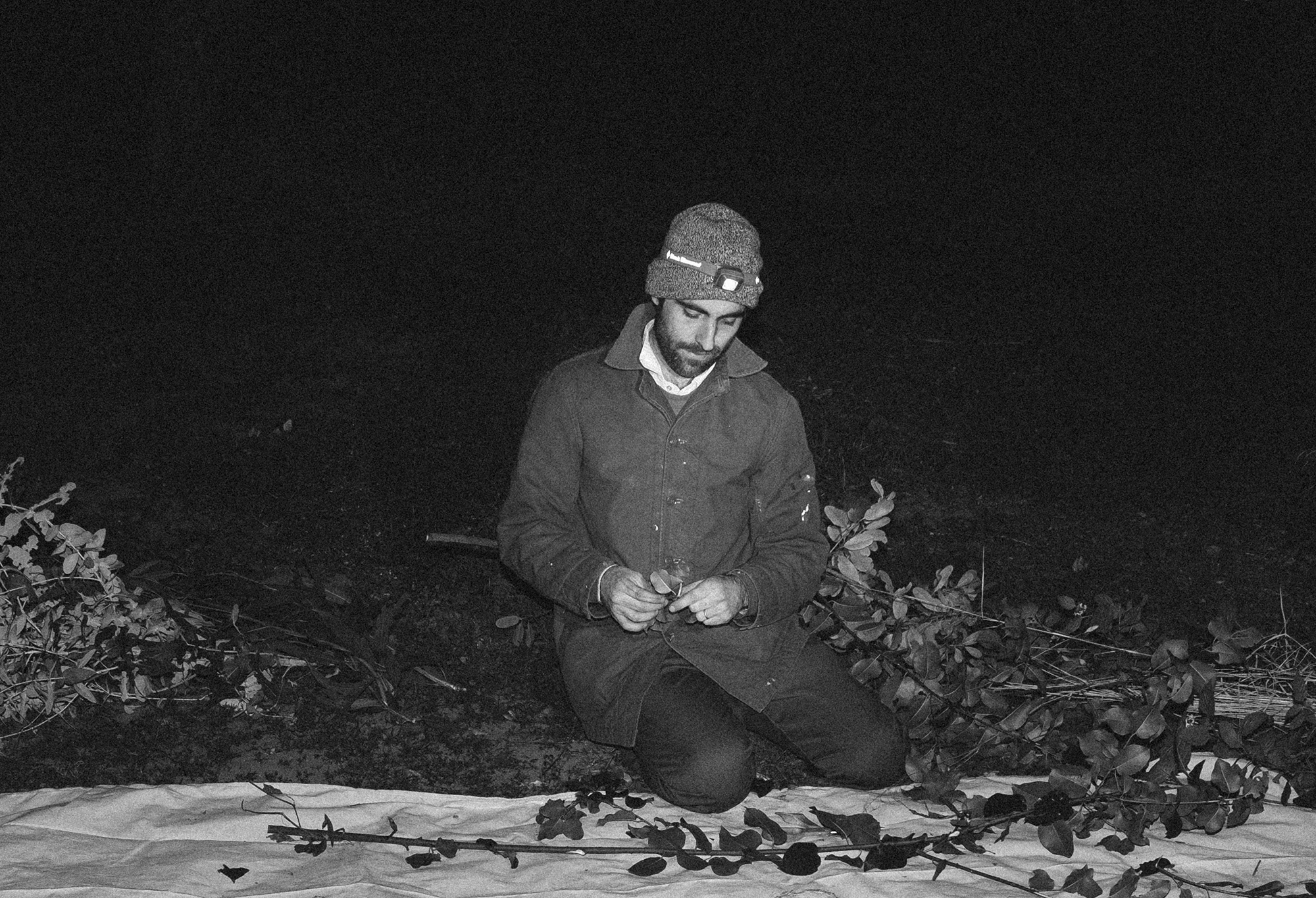 Studio Visit: Artist Sam Falls on Working Alone in the Woods at Night, and Why He Doesn't Like Art That's Easily Described