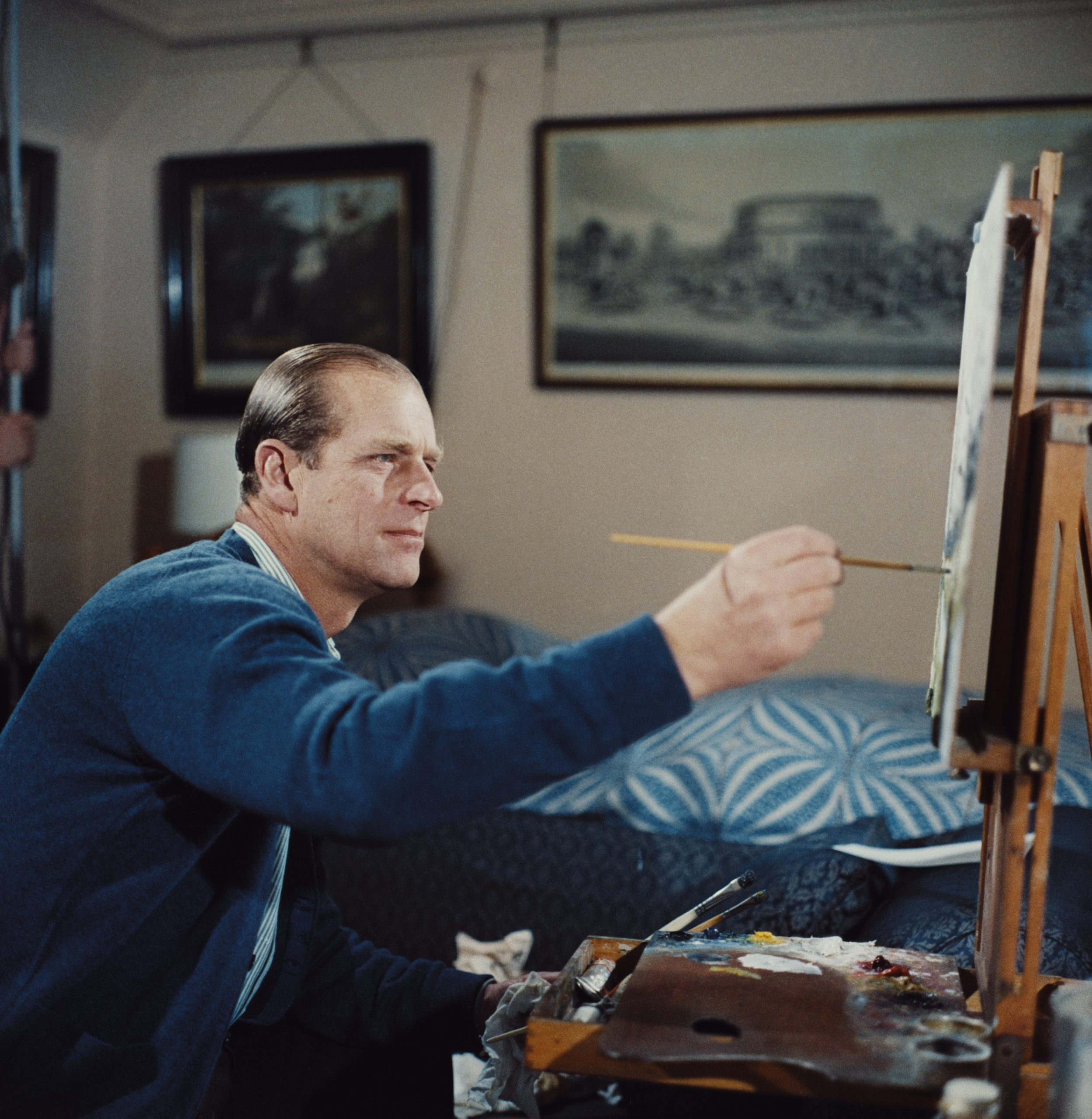 The Late Prince Philip Was a Devoted Patron of the Arts and a Hobbyist Painter—Here Are Some of His Most Notable Pursuits