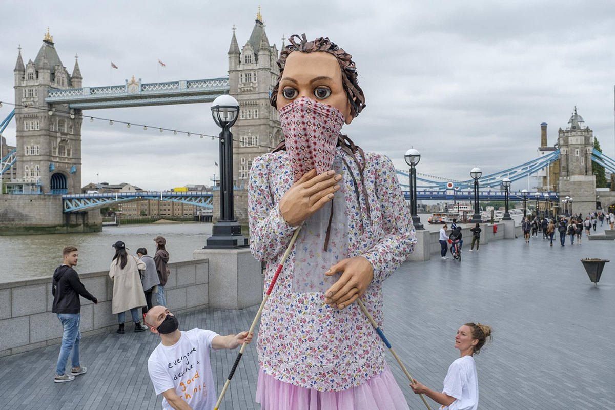 A 12-Foot Puppet of a Syrian Girl Will Travel 5,000 Miles This Summer as Part of a Wildly Ambitious Art Project About the Plight of Refugees