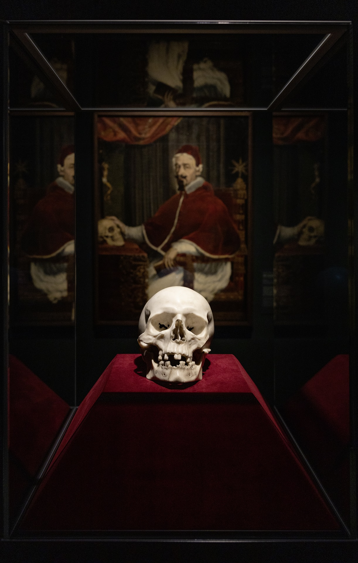 A Marble Skull Displayed for Centuries at a German Castle Turns Out to Be the Work of Bernini, Researchers Have Discovered