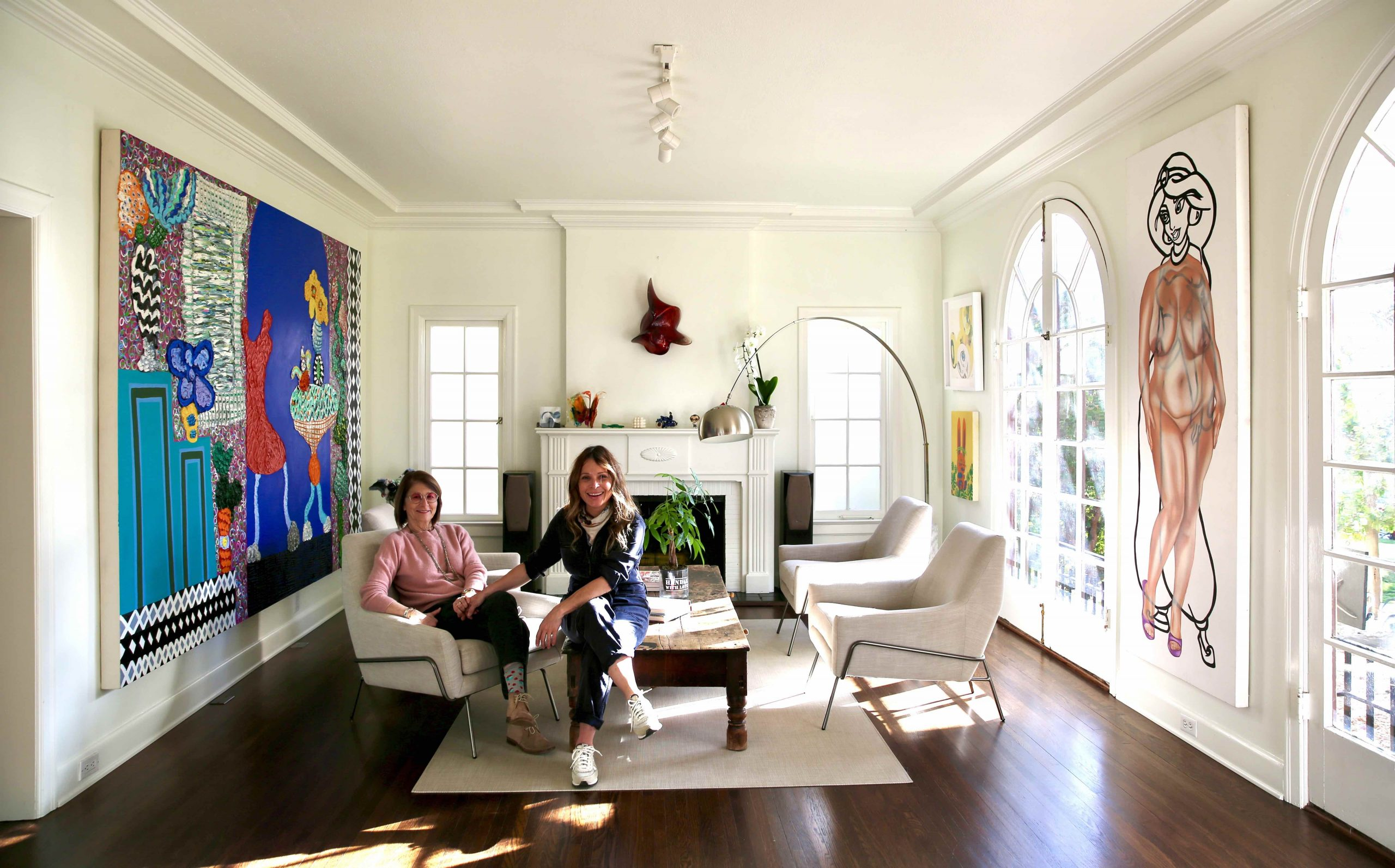 Artist Couple Marisabel Bazan and Lisa Schulte on Sharing One Studio for Their Two Very Different Art Practices | Artnet News