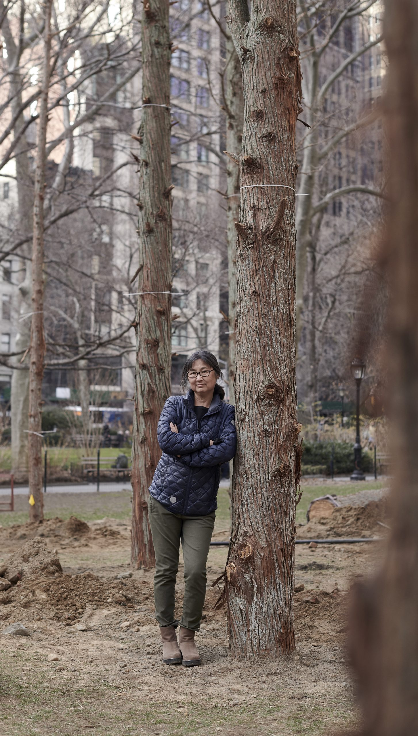 As Maya Lin's 'Ghost Forest' Takes Over Madison Square Park, Watch Her Talk About the Deep Roots of Her Eco-Conscious Public Art   Artnet News