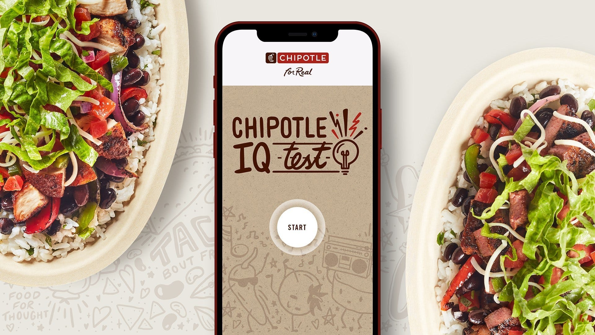 Chipotle IQ game is back for Cinco de Mayo with 250,000 buy-one-get-one free coupon codes