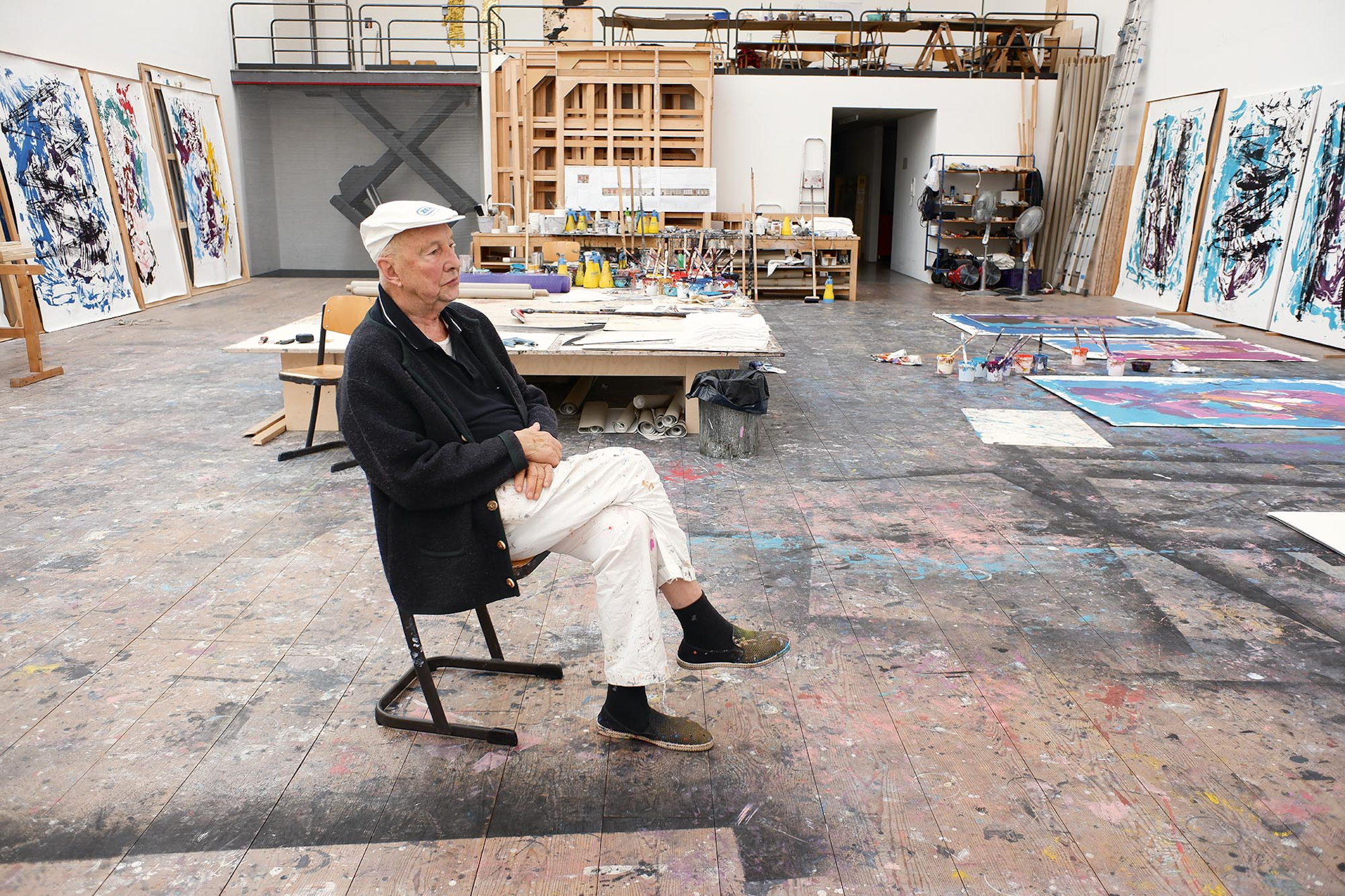 Painter Georg Baselitz on Why He Thinks We're Living in a 'Quota-ocracy,' and What It Takes to Be a Great Artist Today