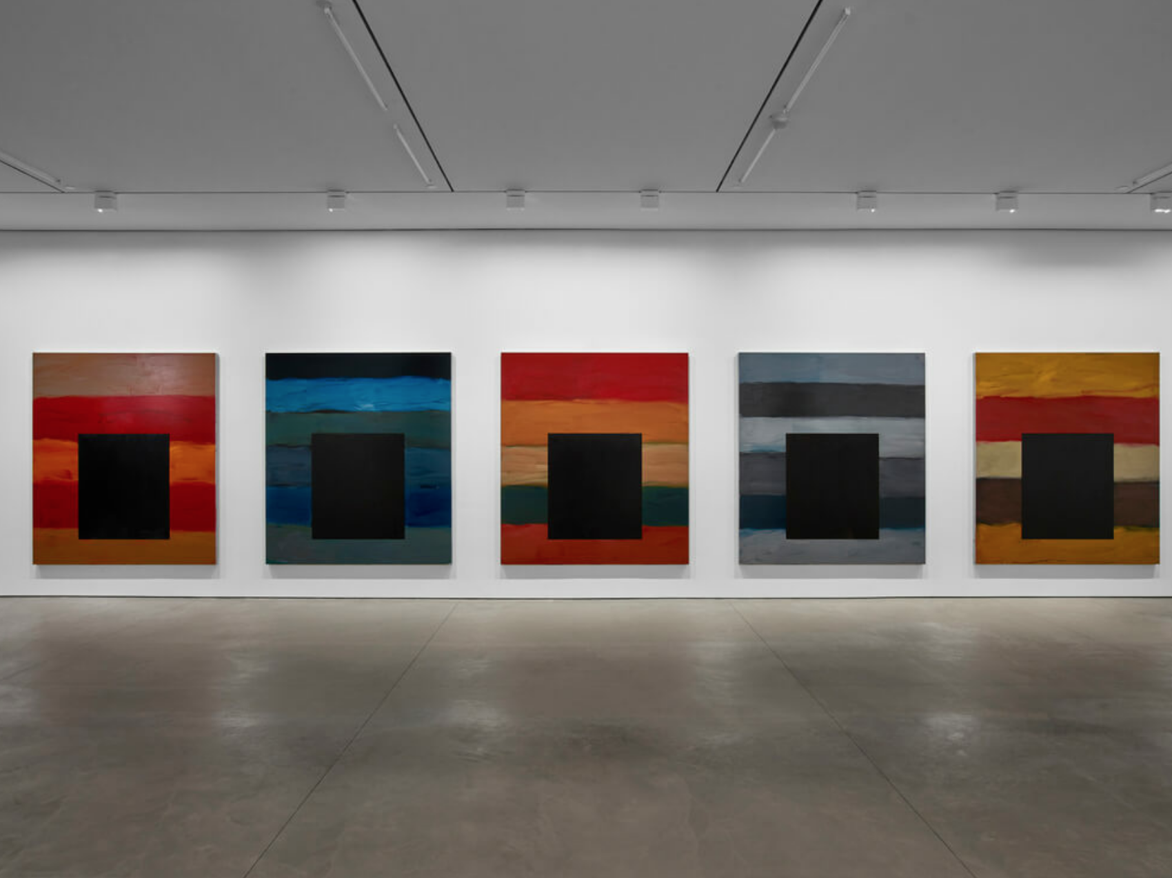 Sean Scully Opened His Studio to the Public to Showcase the Gripping Paintings He Made During Lockdown—See Them Here