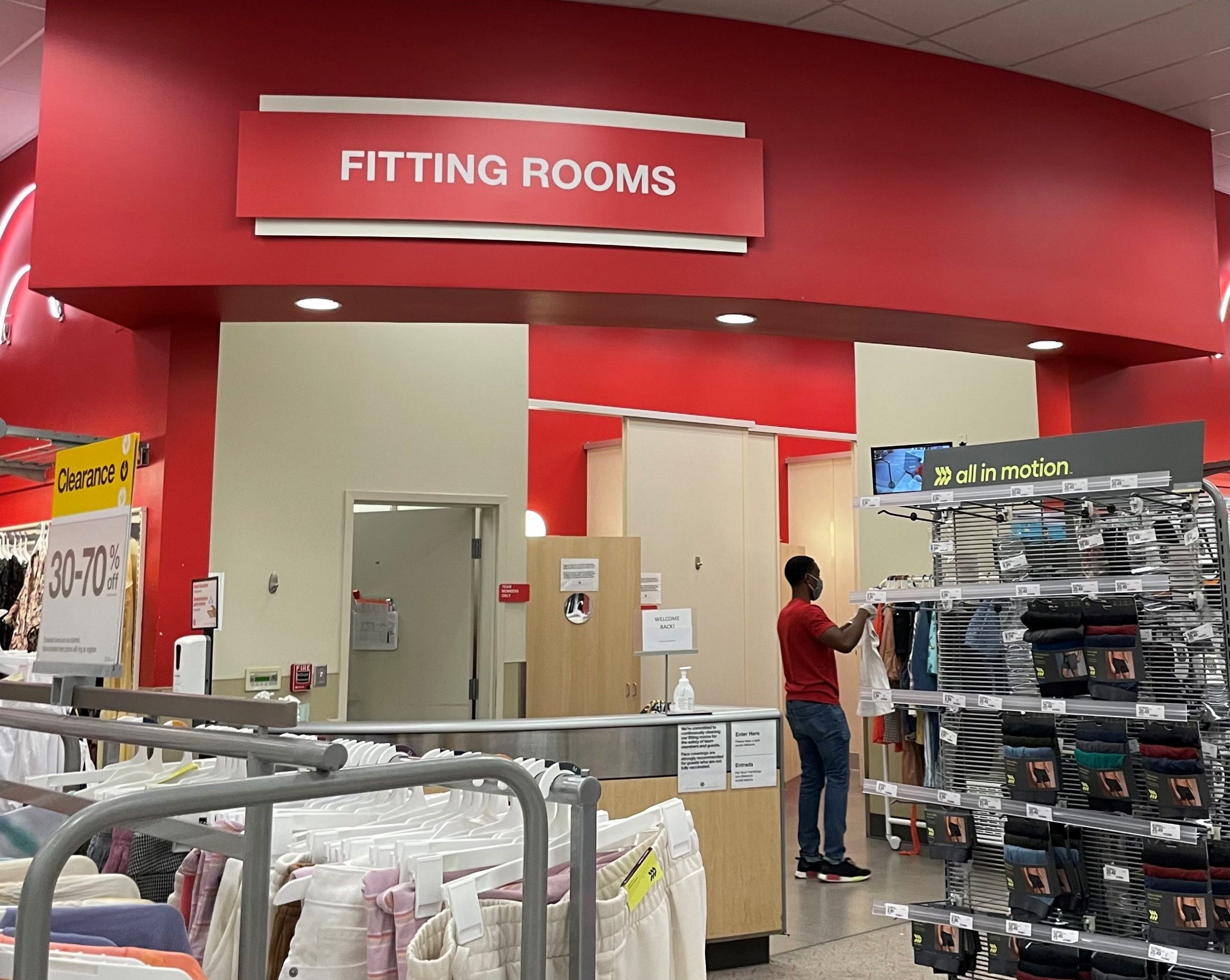 Target is reopening fitting rooms after keeping them closed more than a year amid COVID-19