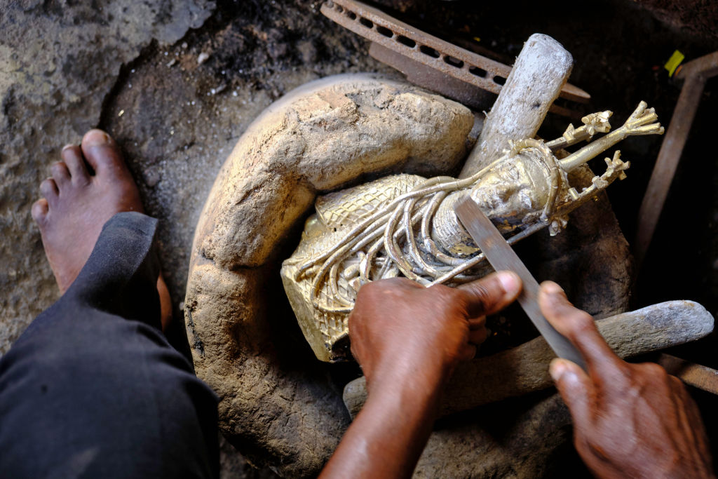 The Benin Bronzes Aren't Just Ancient History. Meet the Contemporary Casters Who Are Still Making Them Today | Artnet News