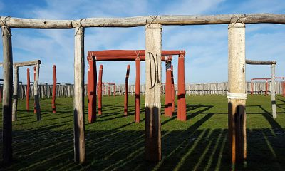 Ringheiligtum Pömmelte, the German Stonehenge. Photo by FrankBothe, Creative Commons Attribution-ShareAlike 4.0 International (CC BY-SA 4.0) license.