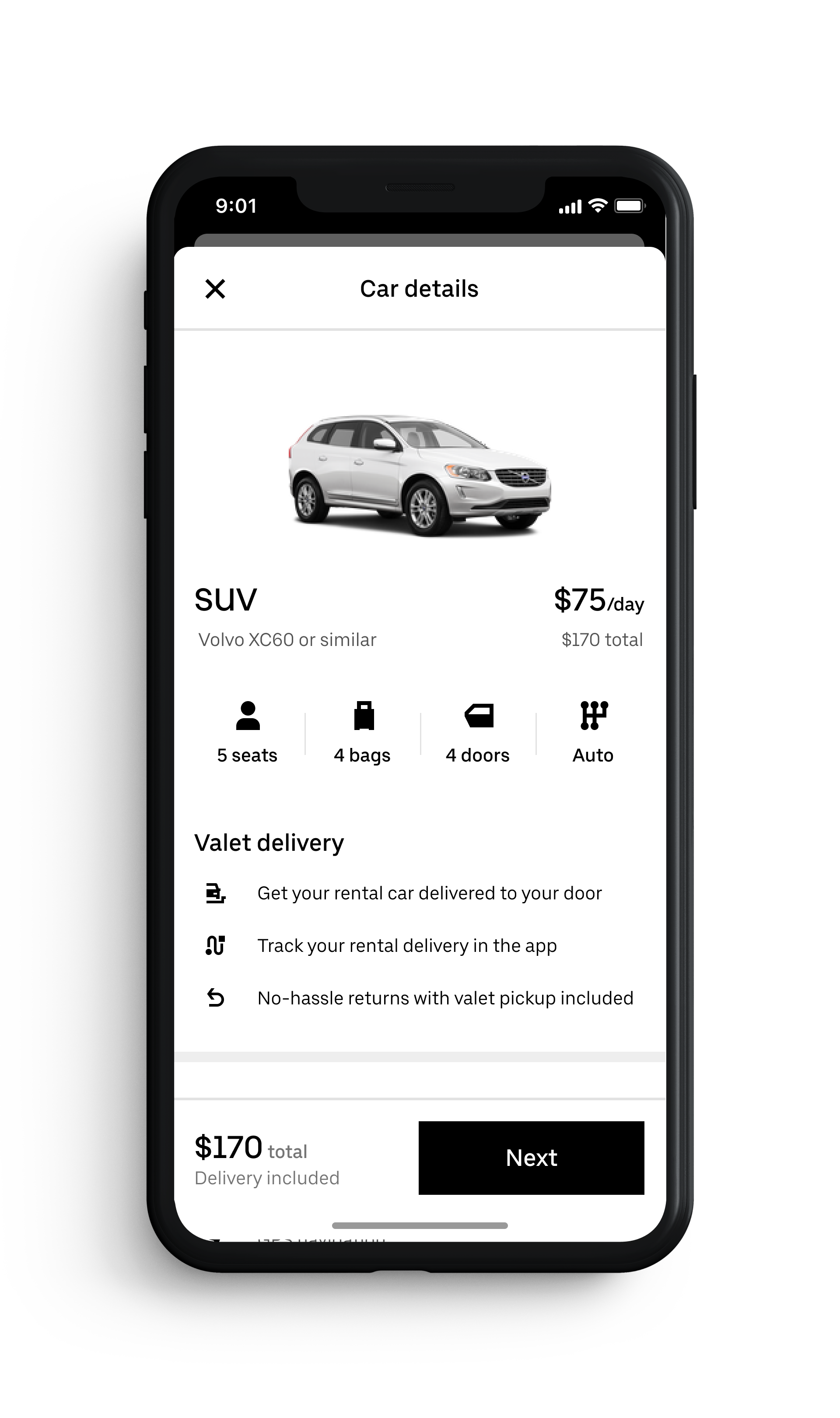 Car rentals delivered to your door? Uber Rent looks to shake up the rental car industry.