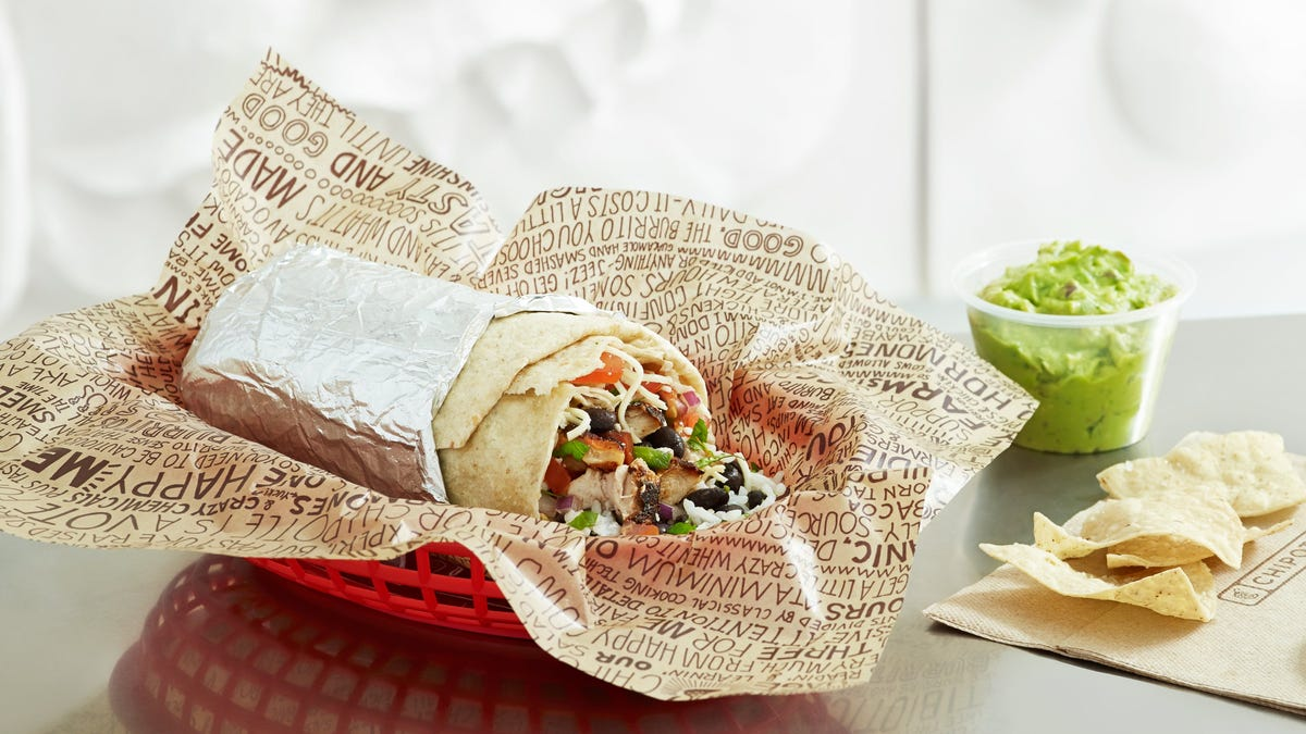 Chipotle raises prices of burritos, salads and more up to 4% as it boosts employee wages