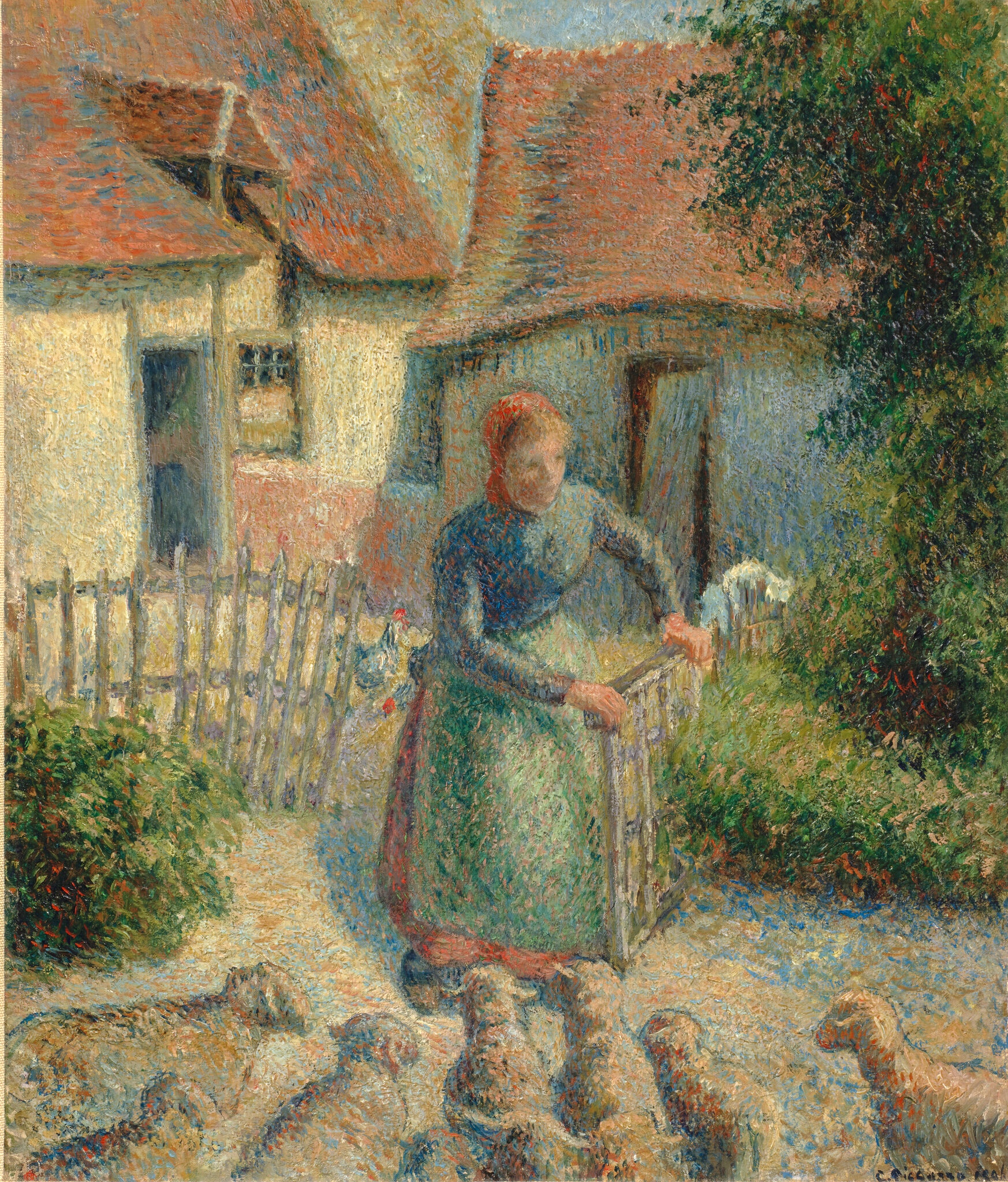 'I Have No Other Choice': Holocaust Survivor Relinquishes Her Claim to a Looted Camille Pissarro Painting   Artnet News