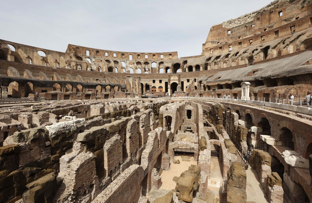 In Pictures: See the Tunnels Beneath Rome's Colosseum, Where Gladiators Prepared for Battle, Open to the Public for the First Time
