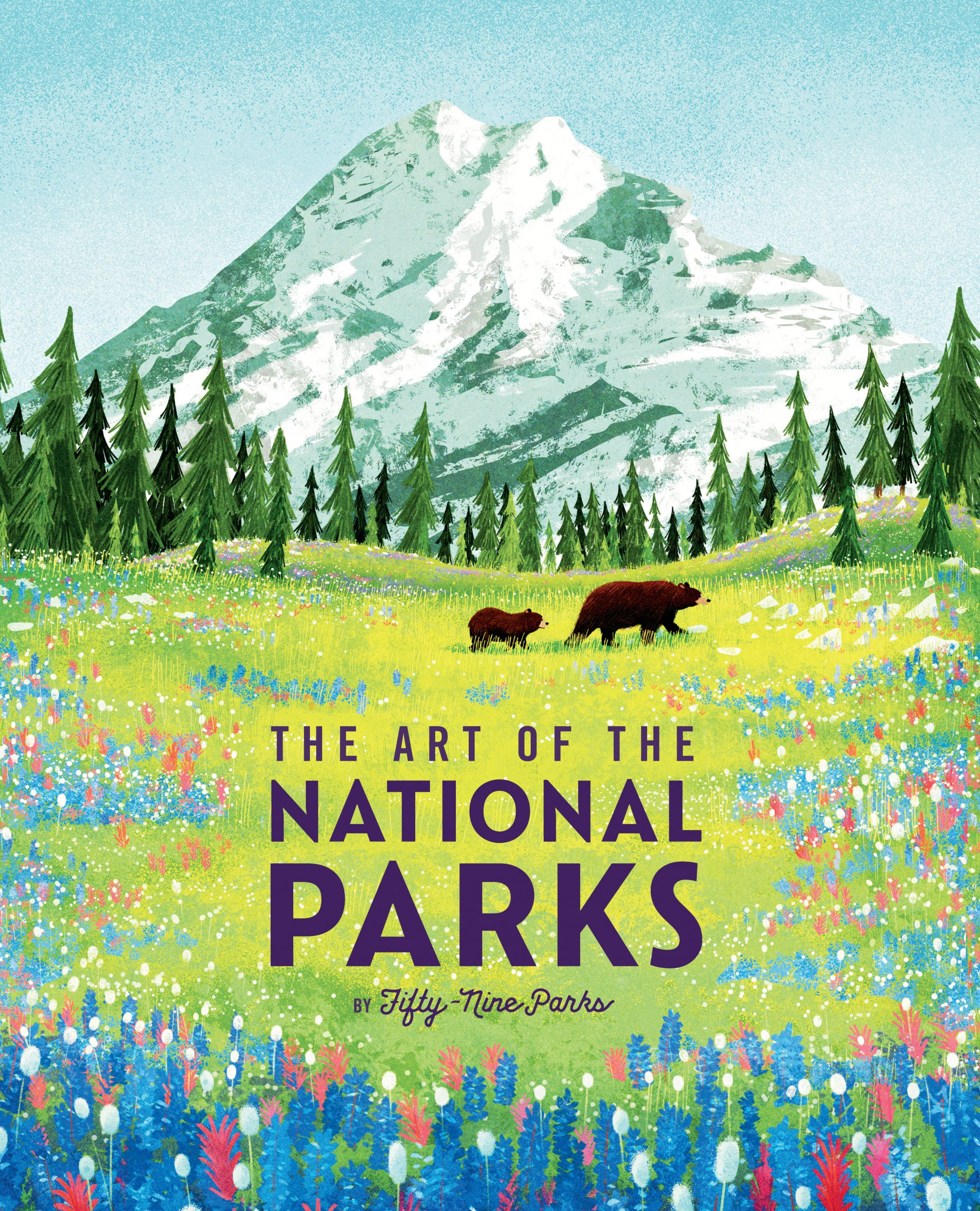 A New Book Puts a Contemporary Twist on the Beloved WPA-Era Posters That Promoted America's National Parks—See Images Here