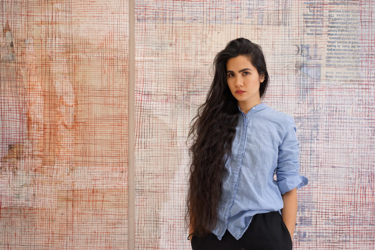 Artist Mandy El-Sayegh on Making Her Studio Into a Bedroom, and the Kind of Art She Doesn't Care for