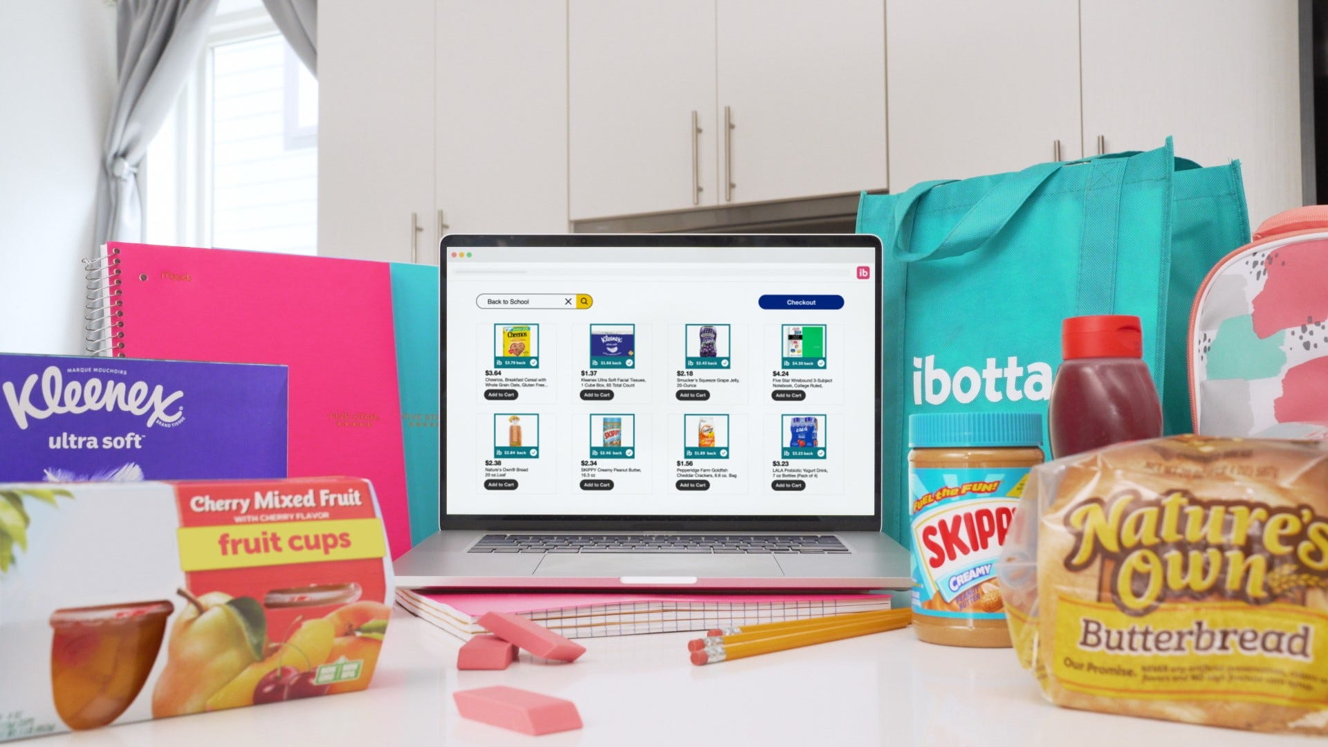 Cashback app Ibotta giving away free school supplies for back to school at Walmart, Target and more