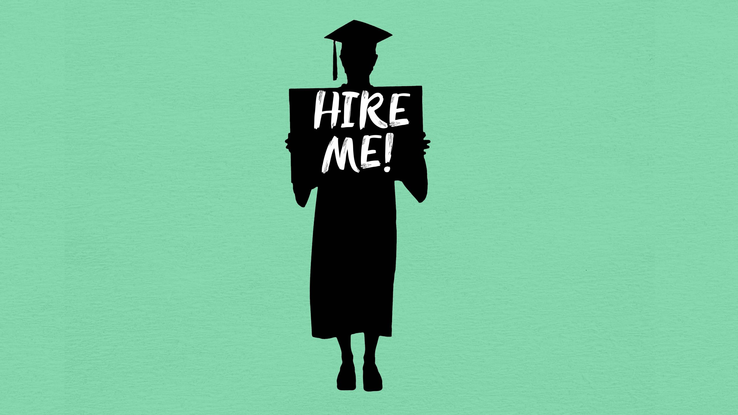 Despite the worst-ever worker shortages, college grads struggle to find jobs as competition for work intensifies