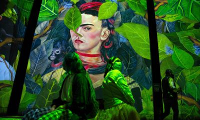 Frida Kahlo Is Now Getting the Immersive Installation Treatment With a New Projected Light Show in Mexico City