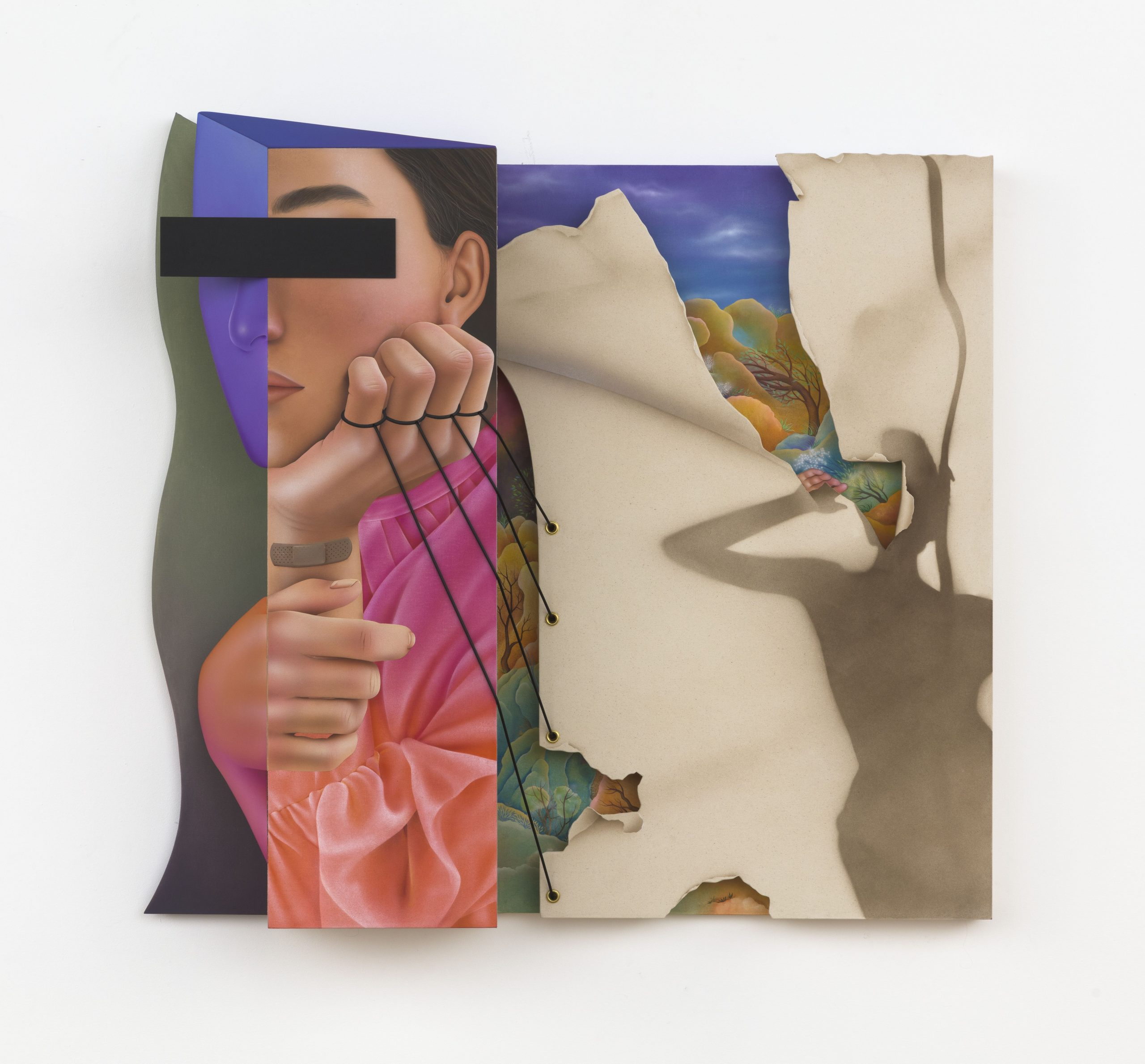 'I Felt in Between Places': Iranian Artist Arghavan Khosravi on Studying Art in the U.S., and Why She Paints Preoccupied Women
