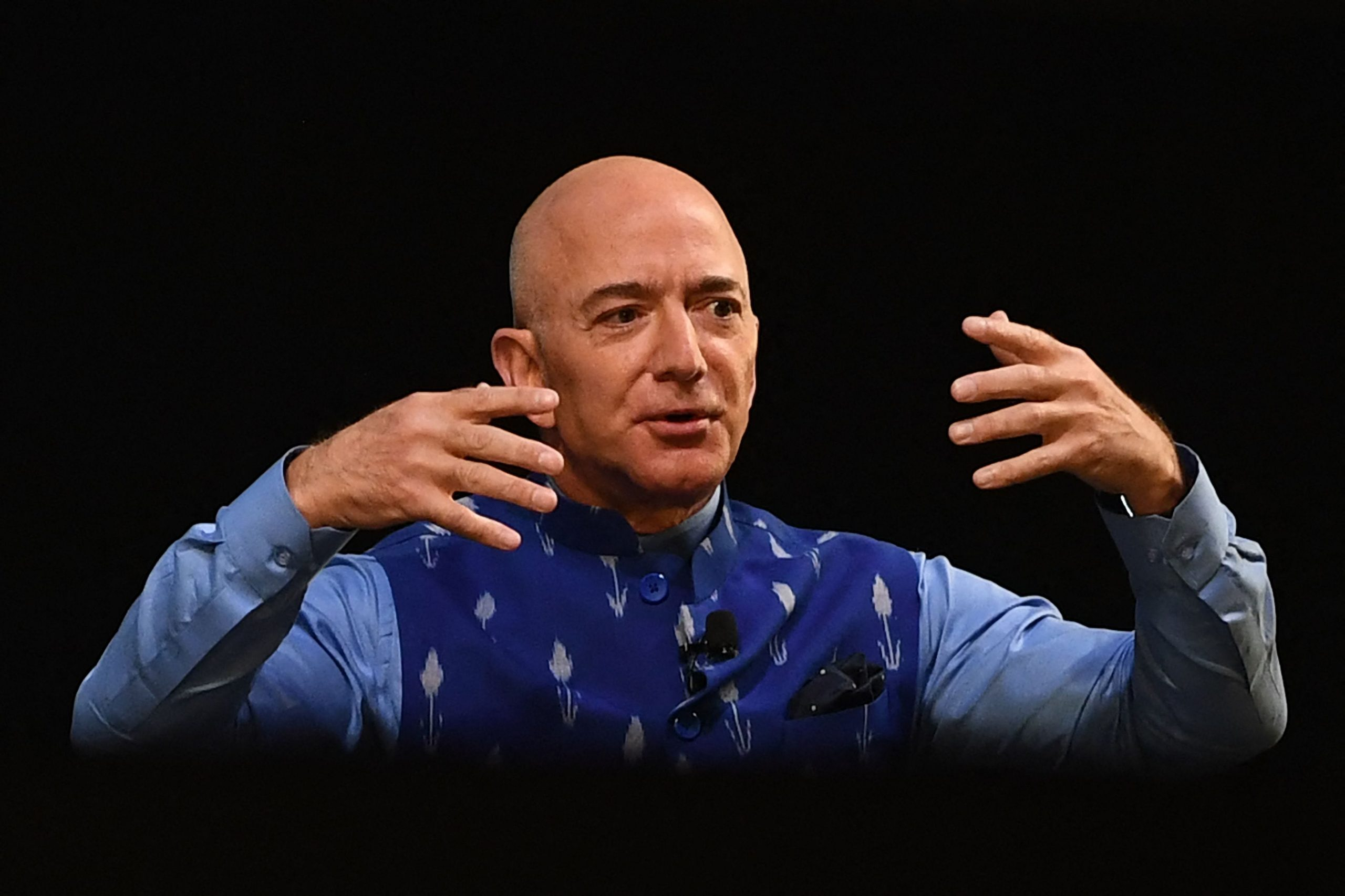 Jeff Bezos is stepping down as CEO. How rich did Amazon make him?
