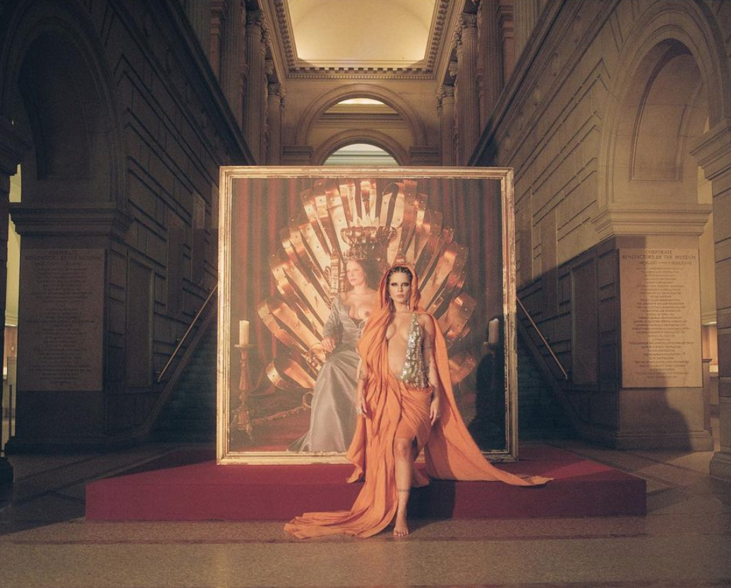 We Did an Art Historical Analysis of Halsey's 13-Minute Performance Video at the Metropolitan Museum of Art. Here's What We Found