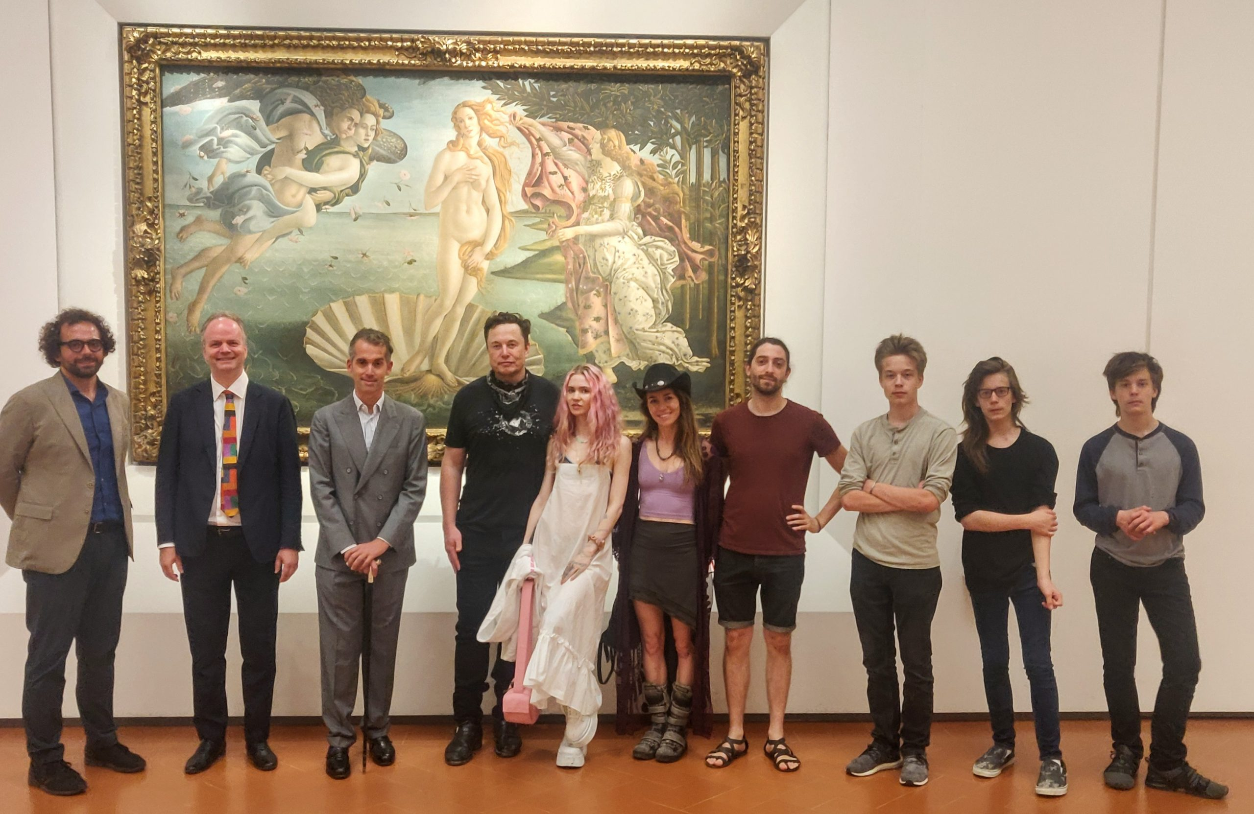 Art Industry News: Elon Musk Made a Surprise Visit to the Uffizi to Study a Sculpture of a Dying Roman Emperor + Other Stories